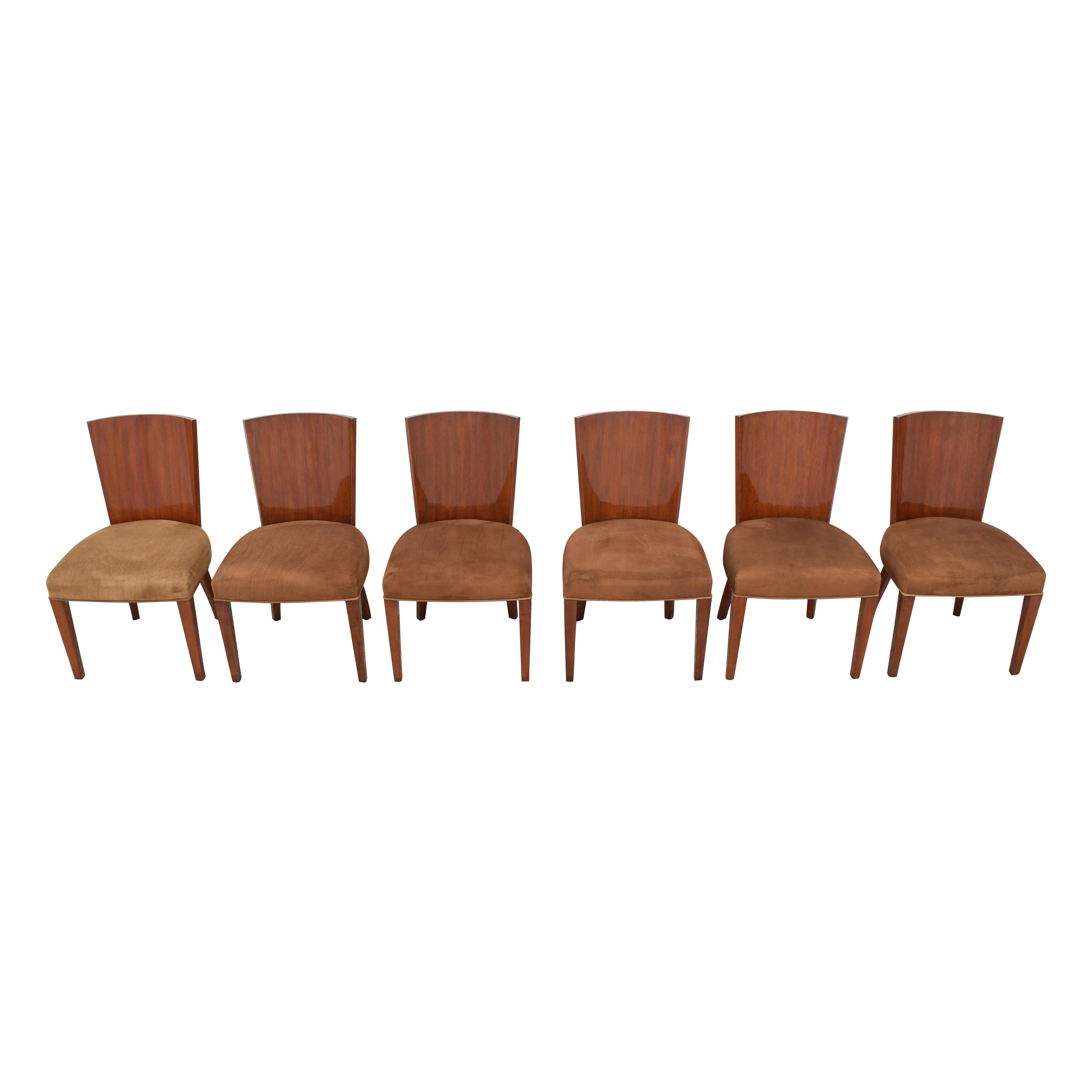 Ralph Lauren Home Ralph Lauren Modern Hollywood Dining Side Chairs second hand
