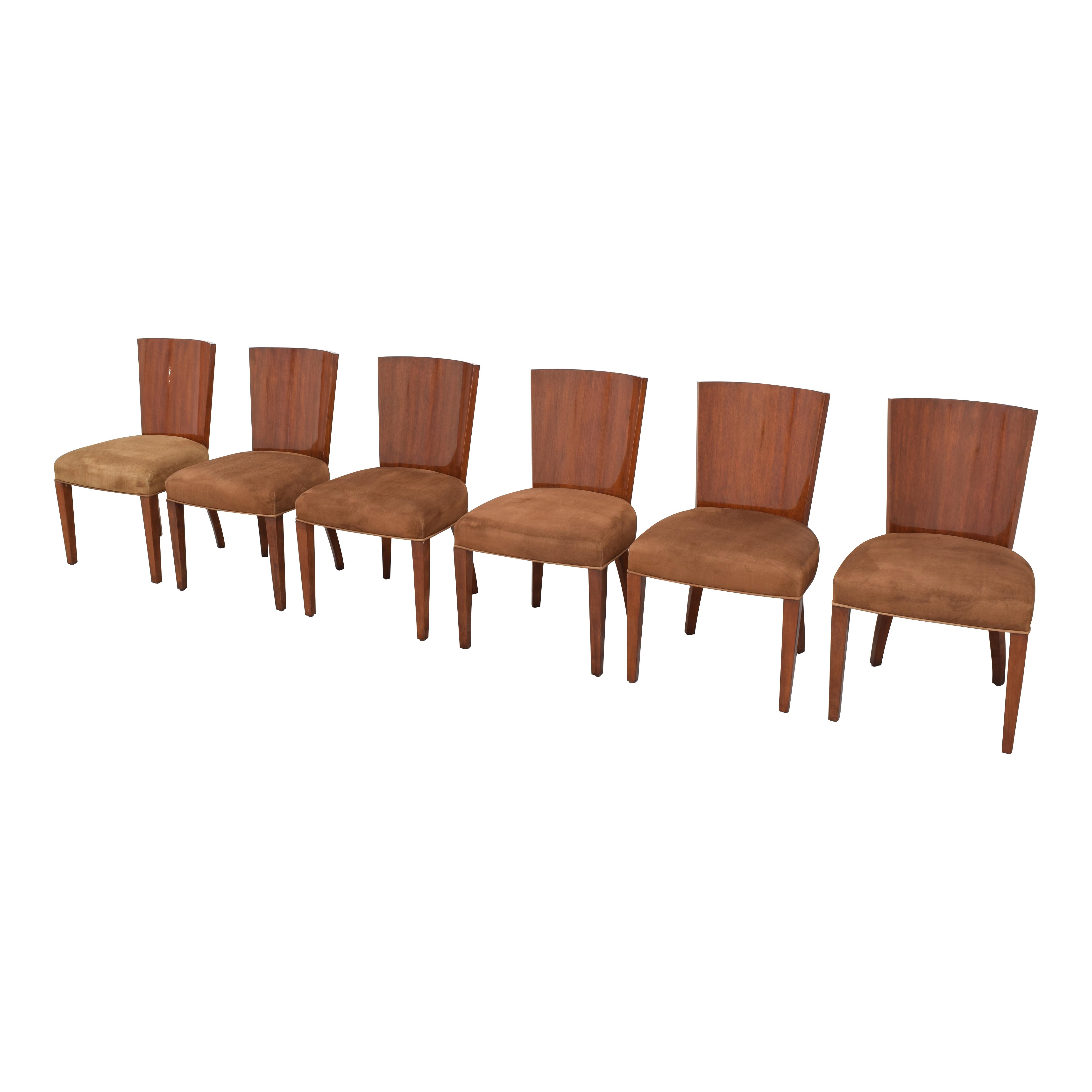 Ralph Lauren Home Ralph Lauren Modern Hollywood Dining Side Chairs dimensions