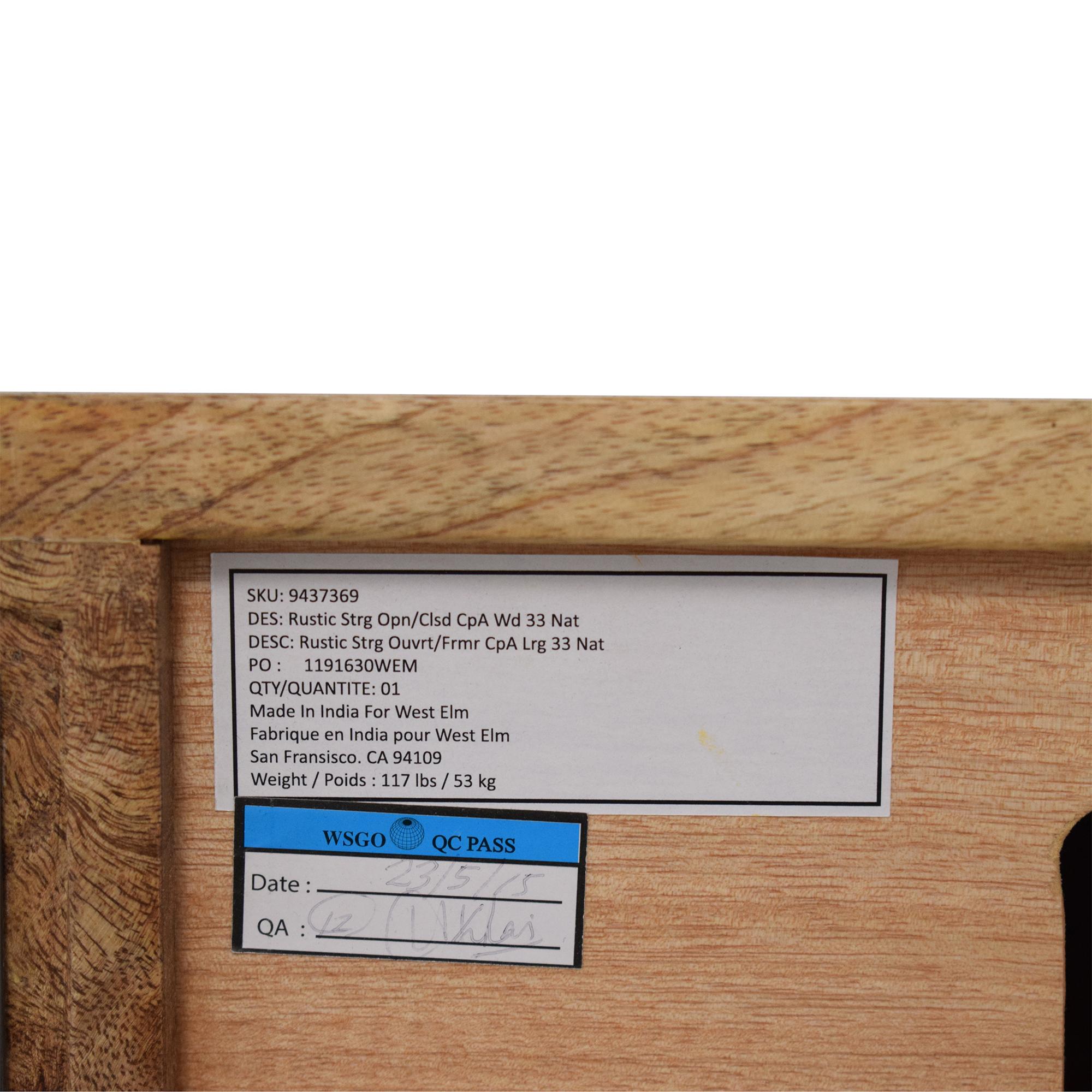 shop West Elm West Elm Industrial Storage Modular System online