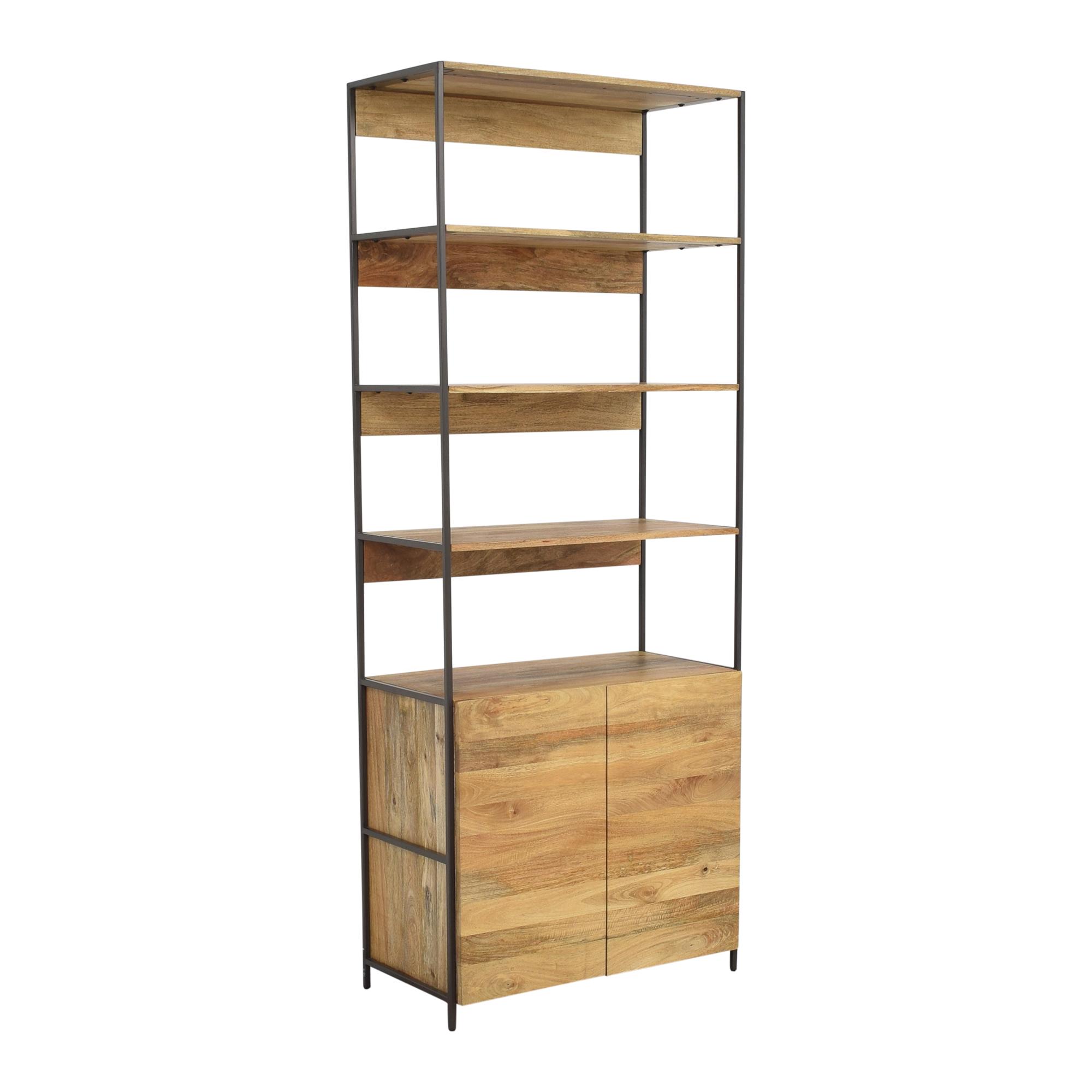 shop West Elm Industrial Storage Modular System West Elm Bookcases & Shelving