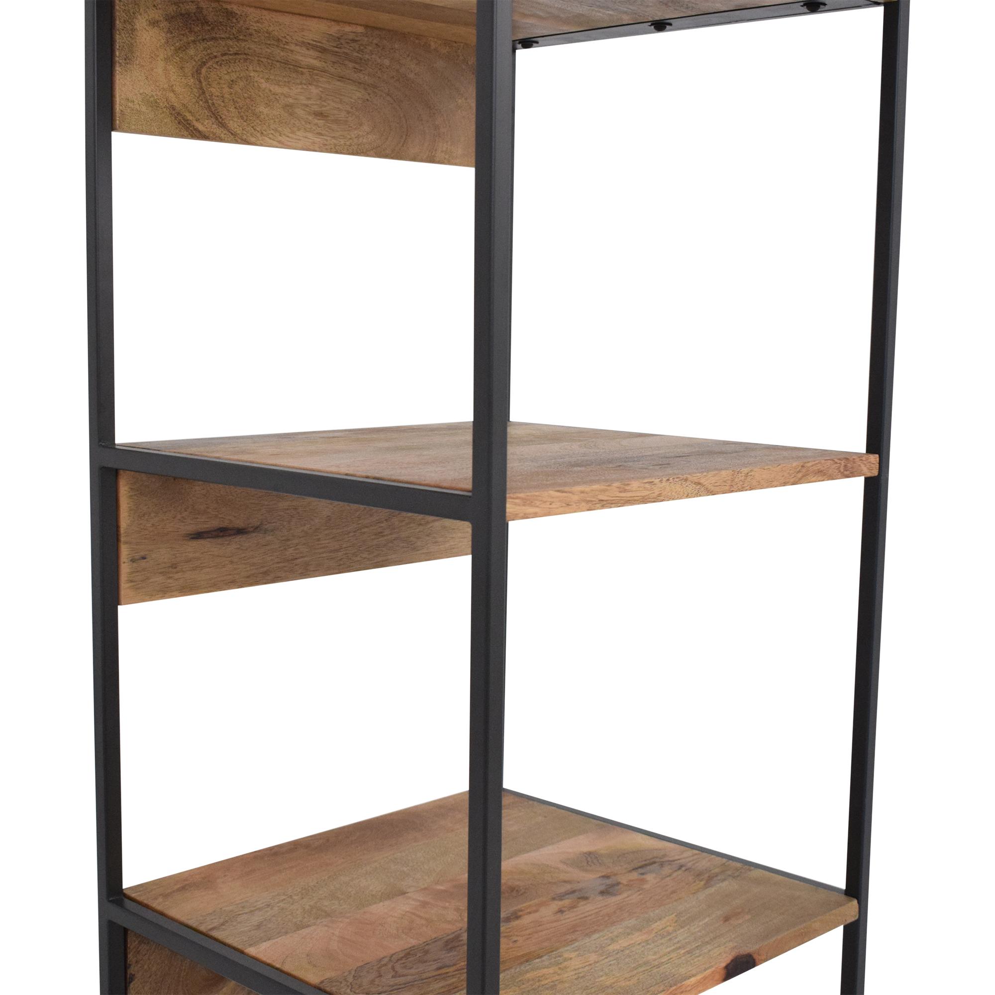 West Elm West Elm Industrial Modular Bookshelf used