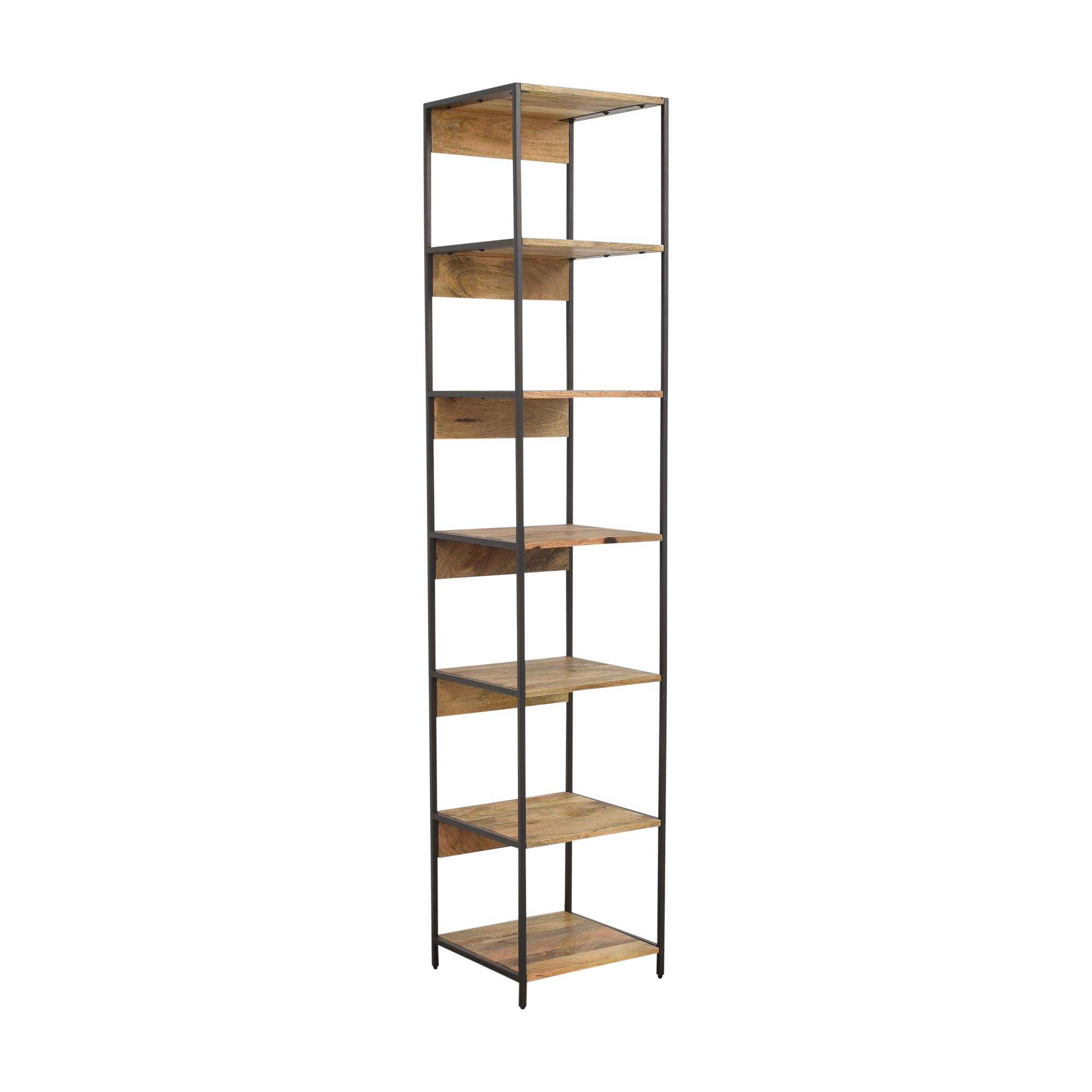 shop West Elm Industrial Modular Bookshelf West Elm Storage