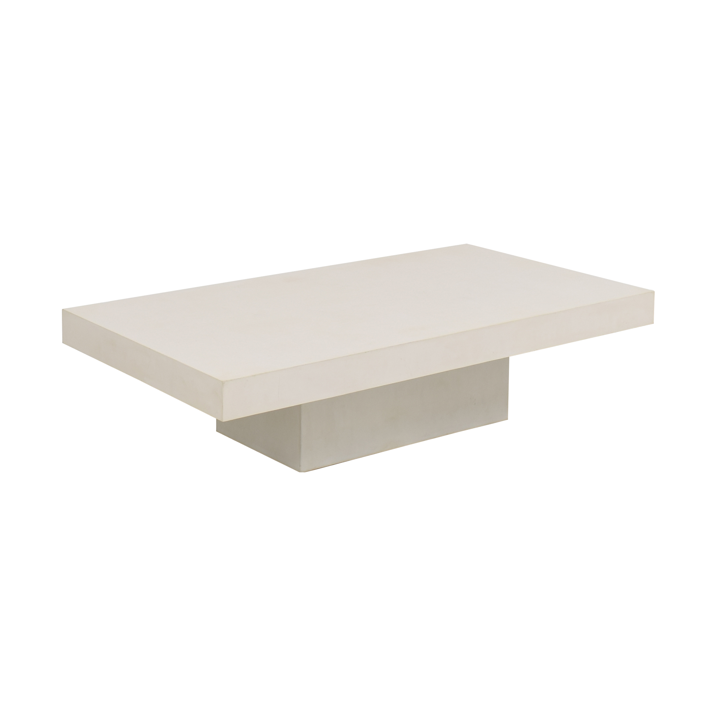 CB2 CB2 Element Cement Coffee Table pa