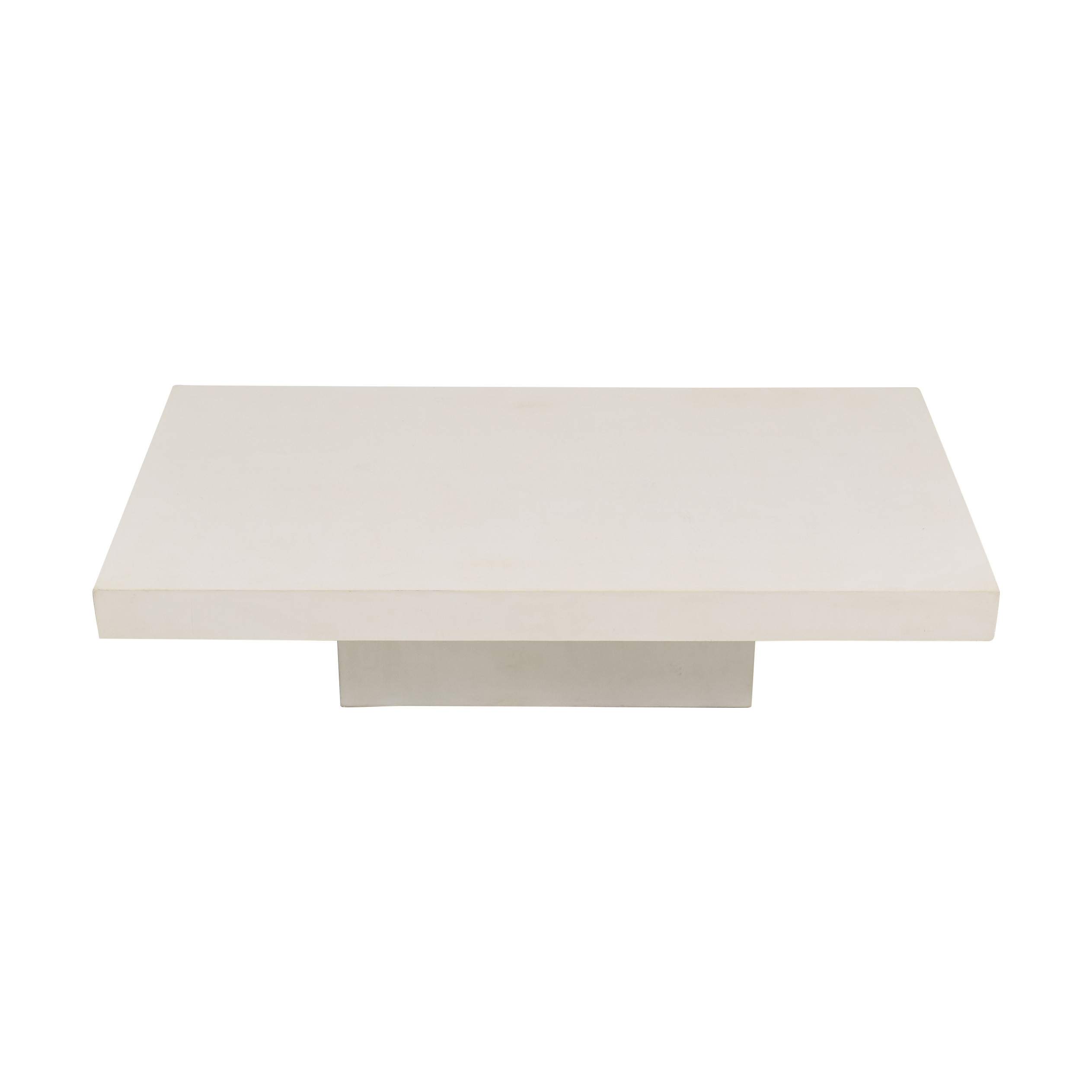 buy CB2 Element Cement Coffee Table CB2