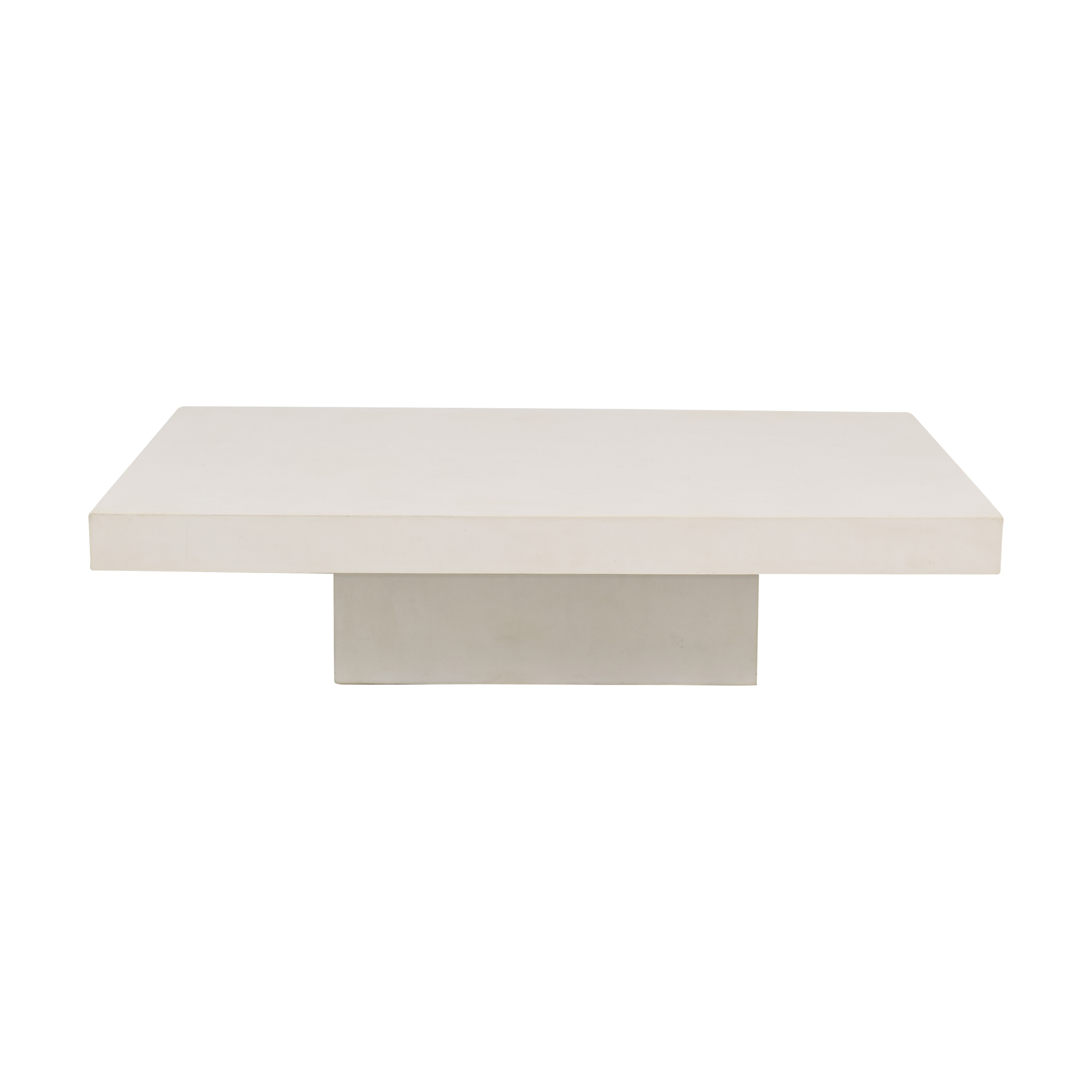 buy CB2 CB2 Element Cement Coffee Table online