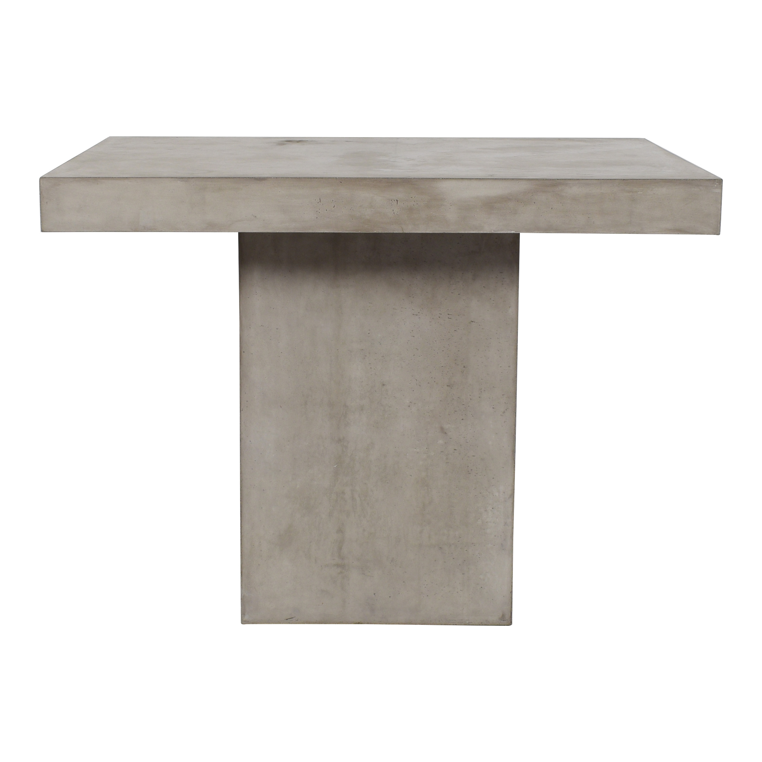 shop Seasonal Living Concrete Patio Table  Dinner Tables