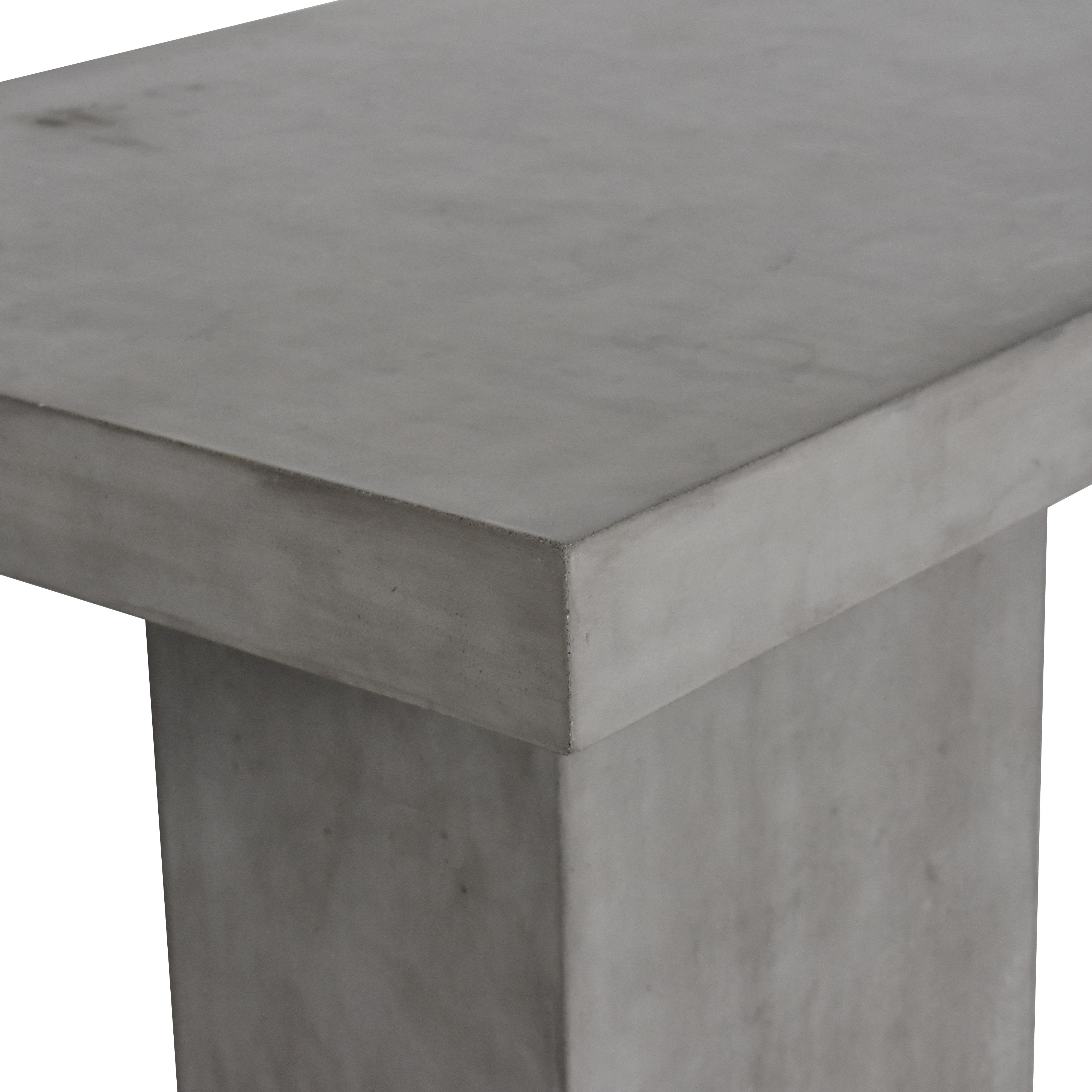 Seasonal Living Concrete Patio Table ma