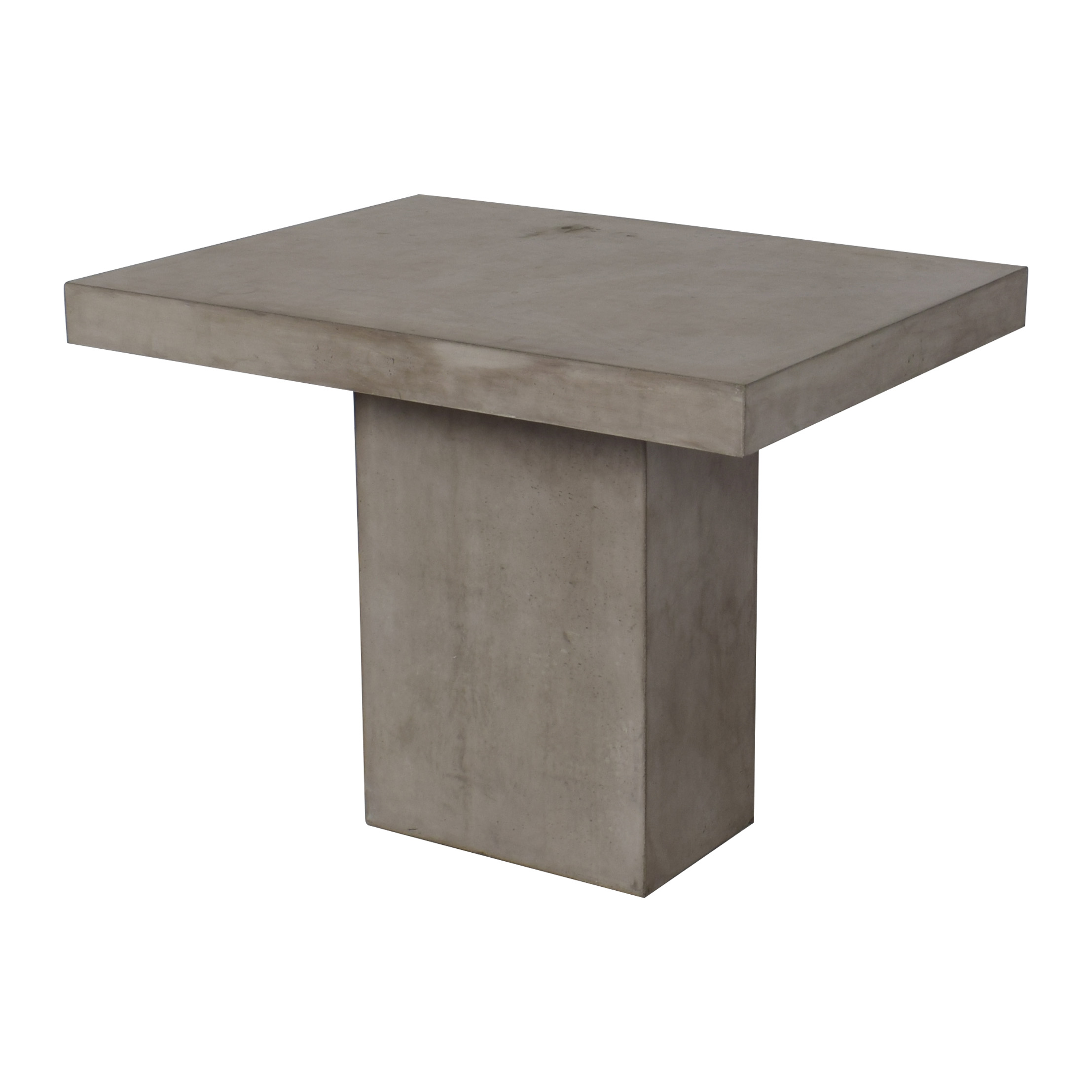 shop Seasonal Living Concrete Patio Table  Tables