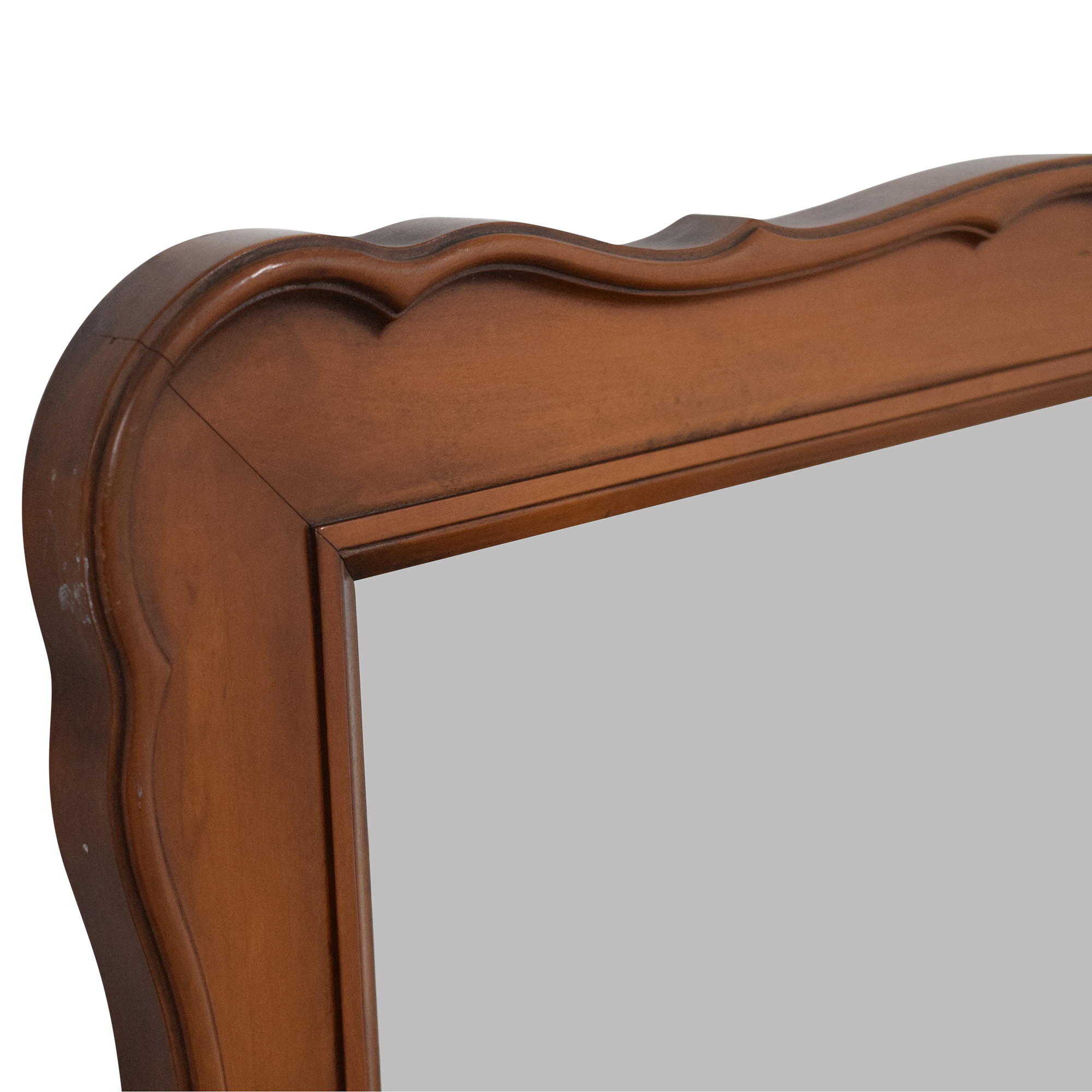 shop White Fine Furniture Wood Framed Mirror White Fine Furniture Mirrors