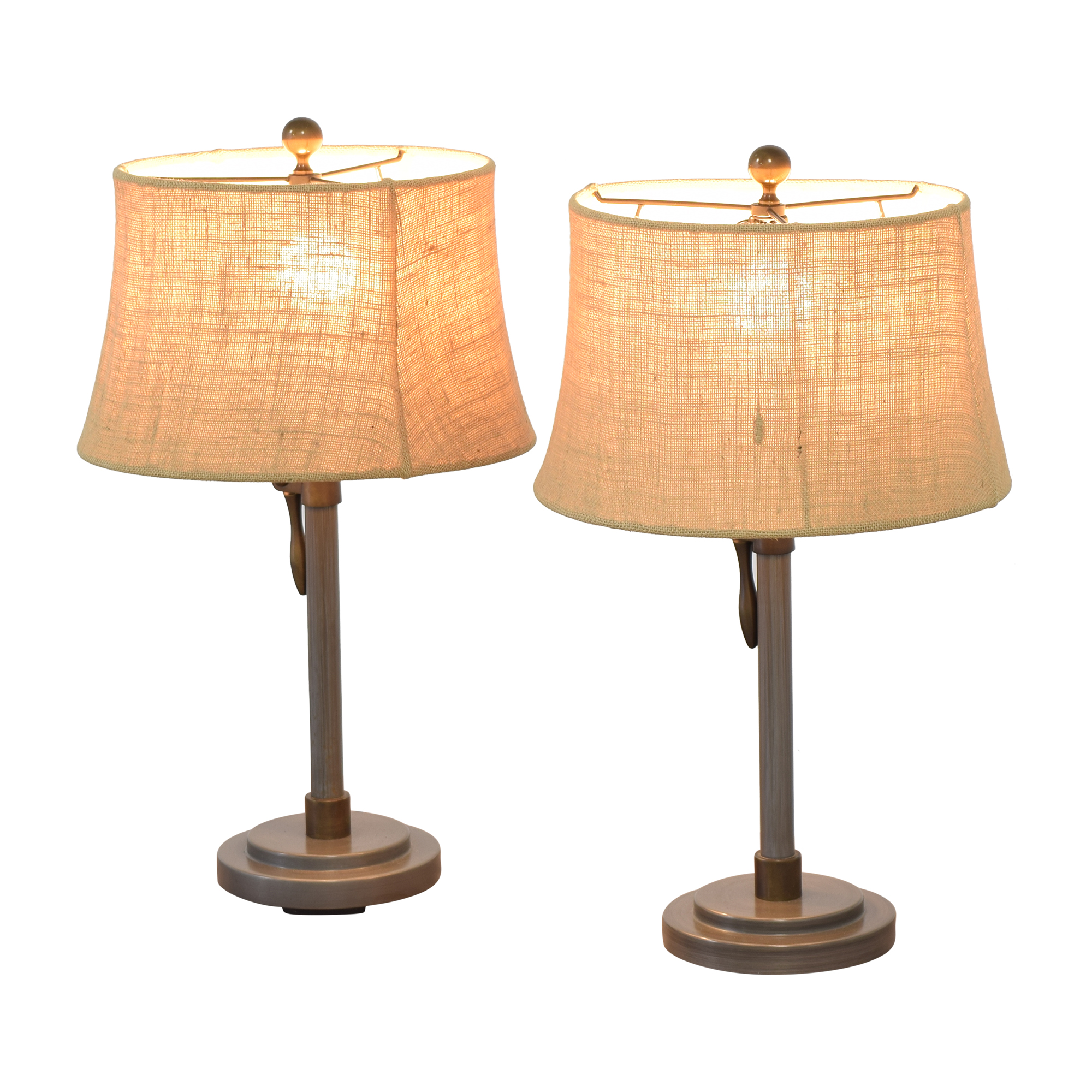 Pottery Barn Pottery Barn Sutter Adjustable Lever Table Lamps pa