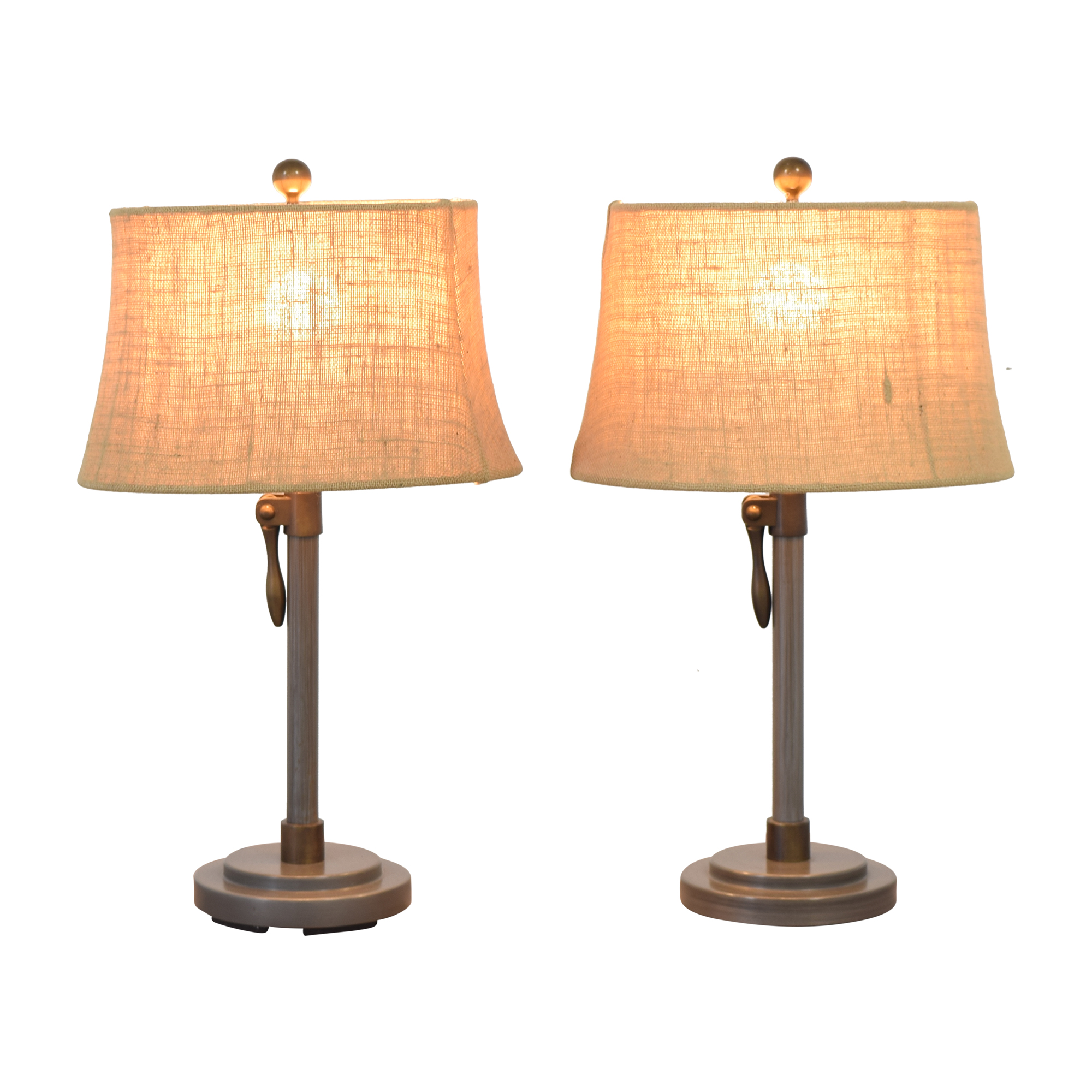 buy Pottery Barn Pottery Barn Sutter Adjustable Lever Table Lamps online