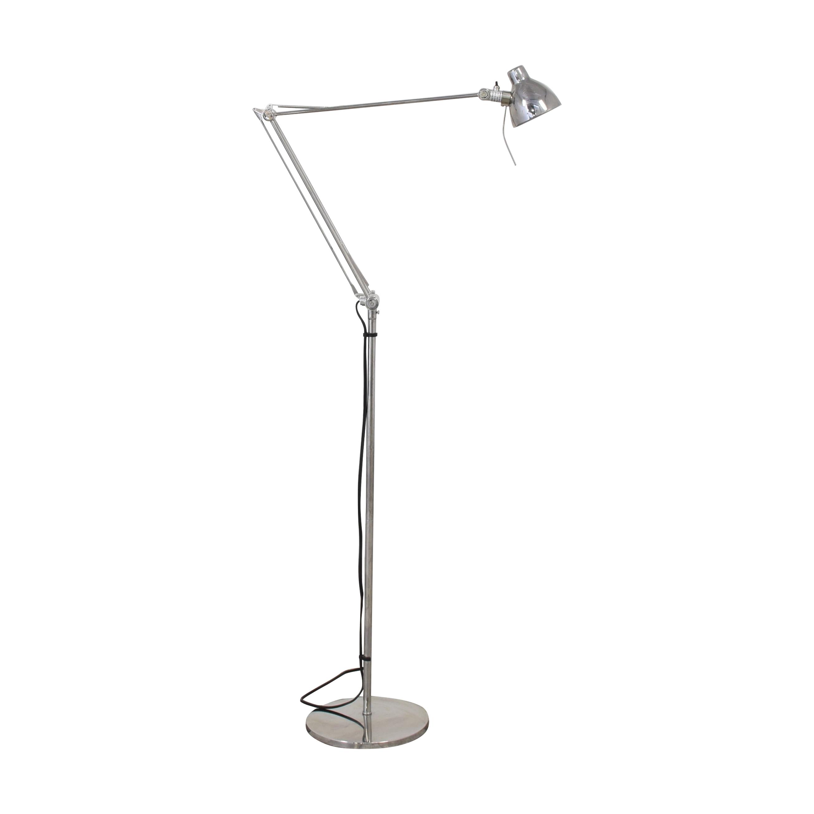 IKEA Chrome Extendable Floor Lamp / Decor