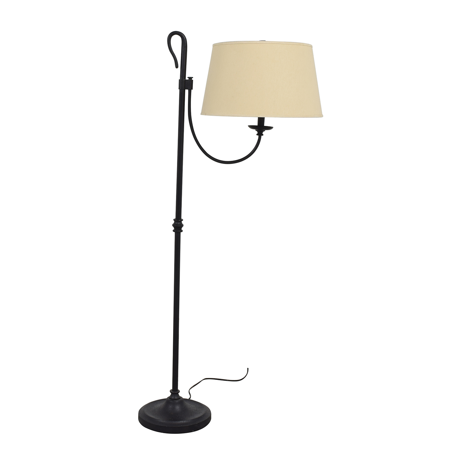 Pottery Barn Pottery Barn Black Metal Floor Lamp nj