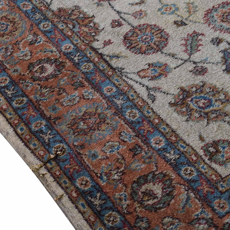 buy  Turkish Beige Red Wool Rug online