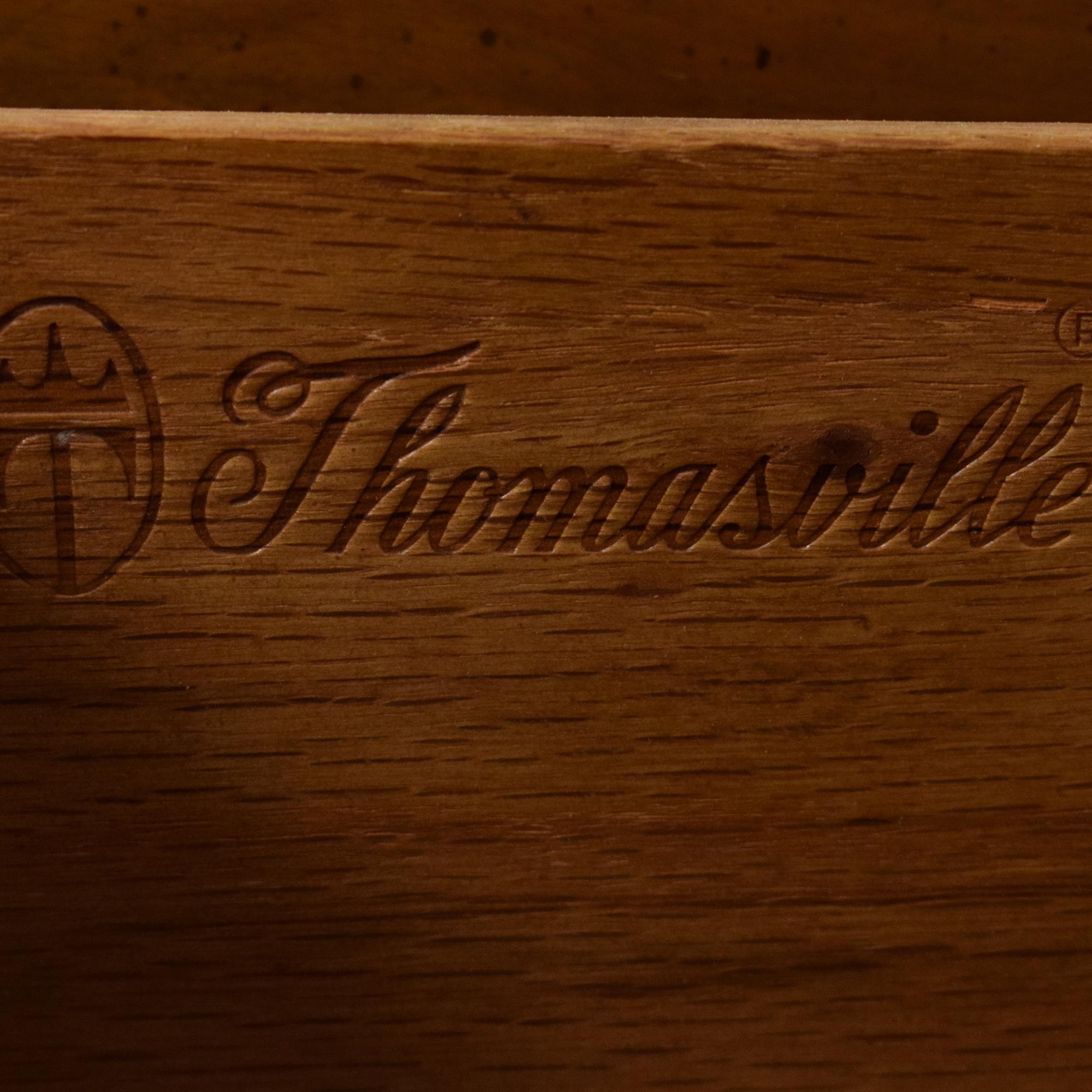 Thomasville Thomasville Dresser with Cabinets second hand