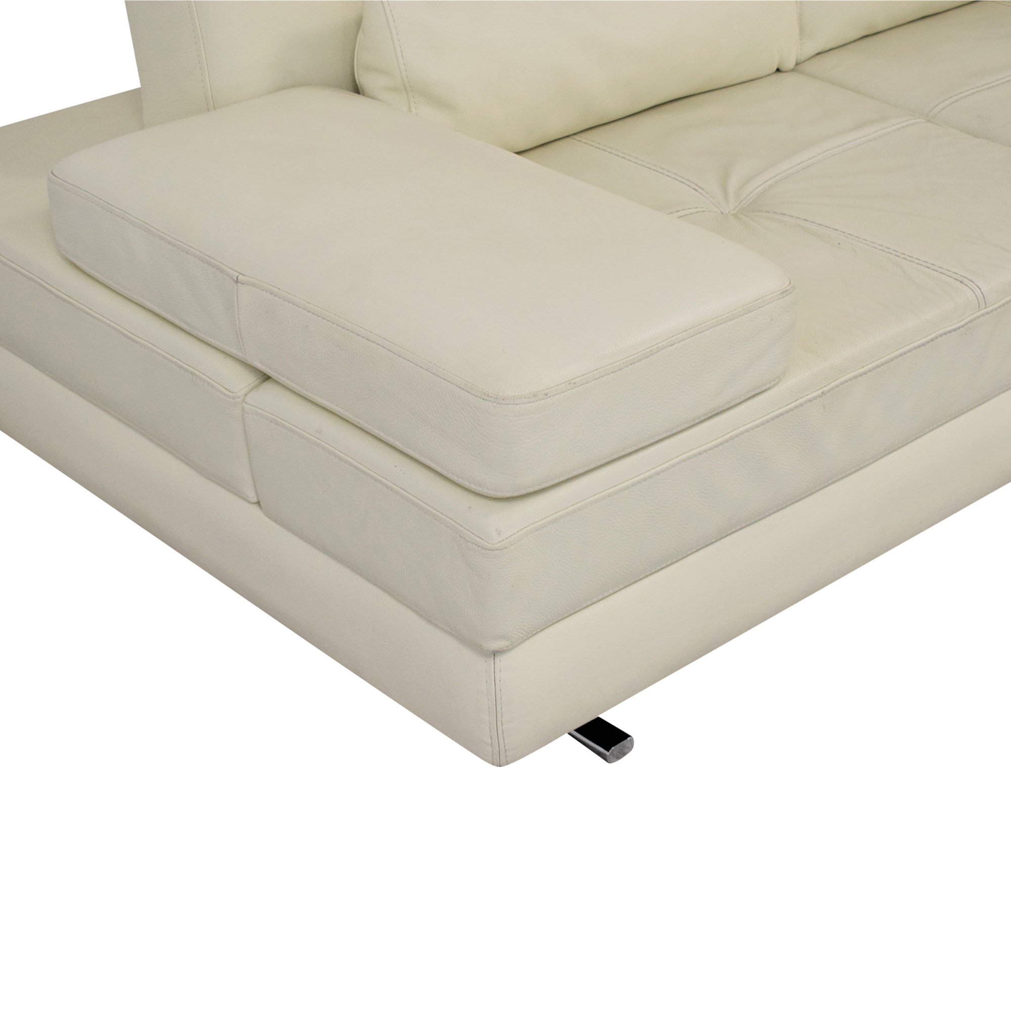 Lazzoni Lazzoni Mony Full Sleeper Sofa white