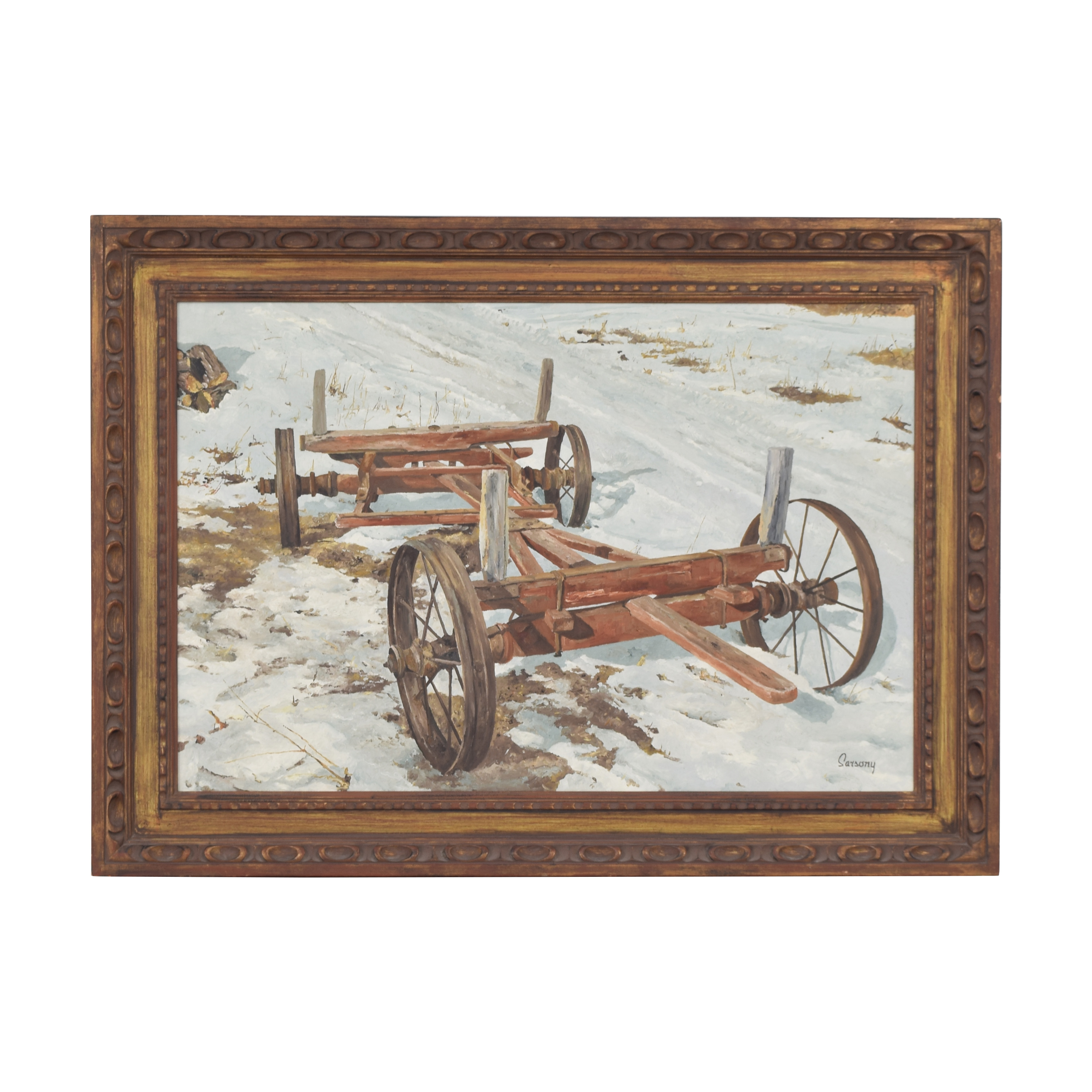 shop Robert Sarsony The Field Wagon c1964  Decor