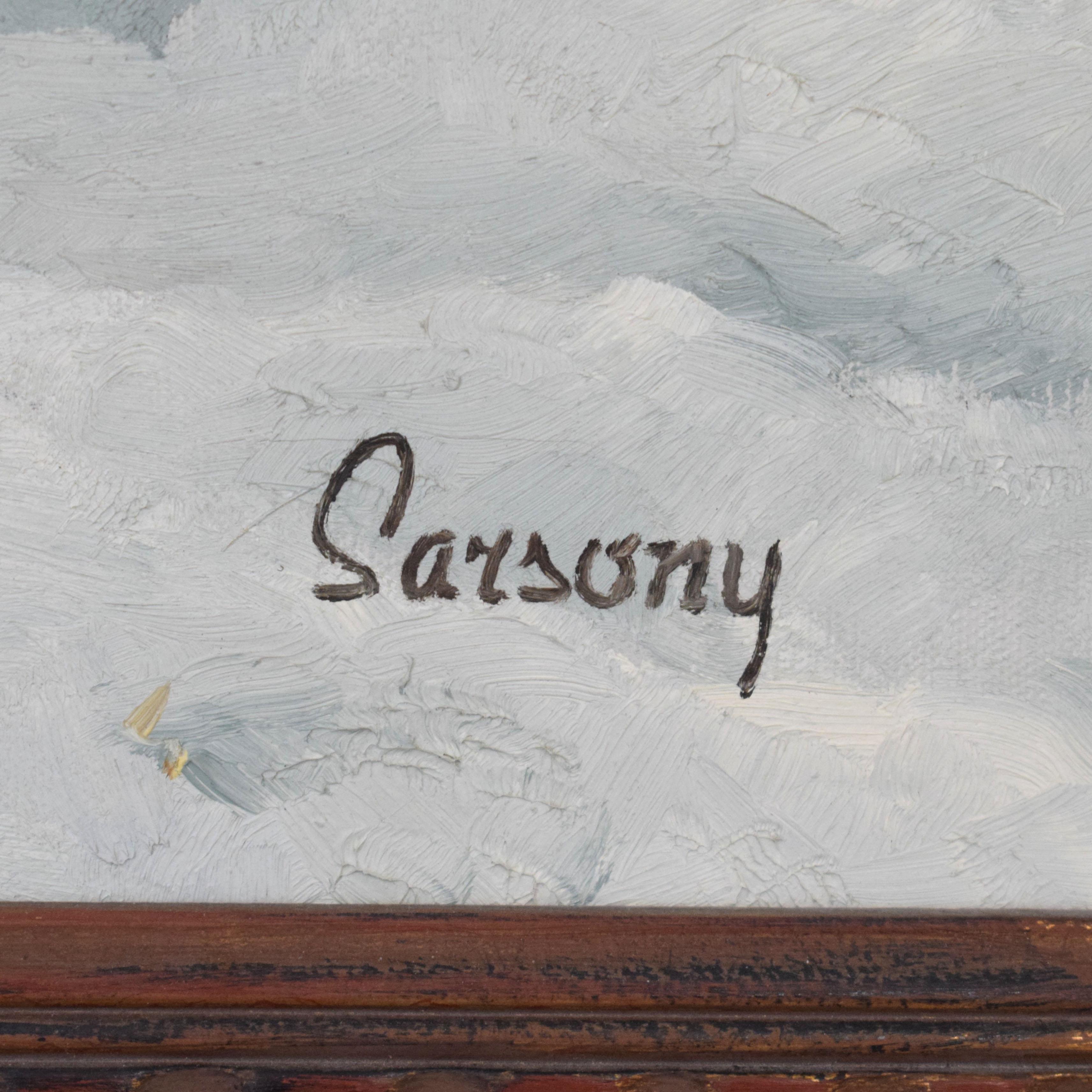 Robert Sarsony The Field Wagon c1964 dimensions