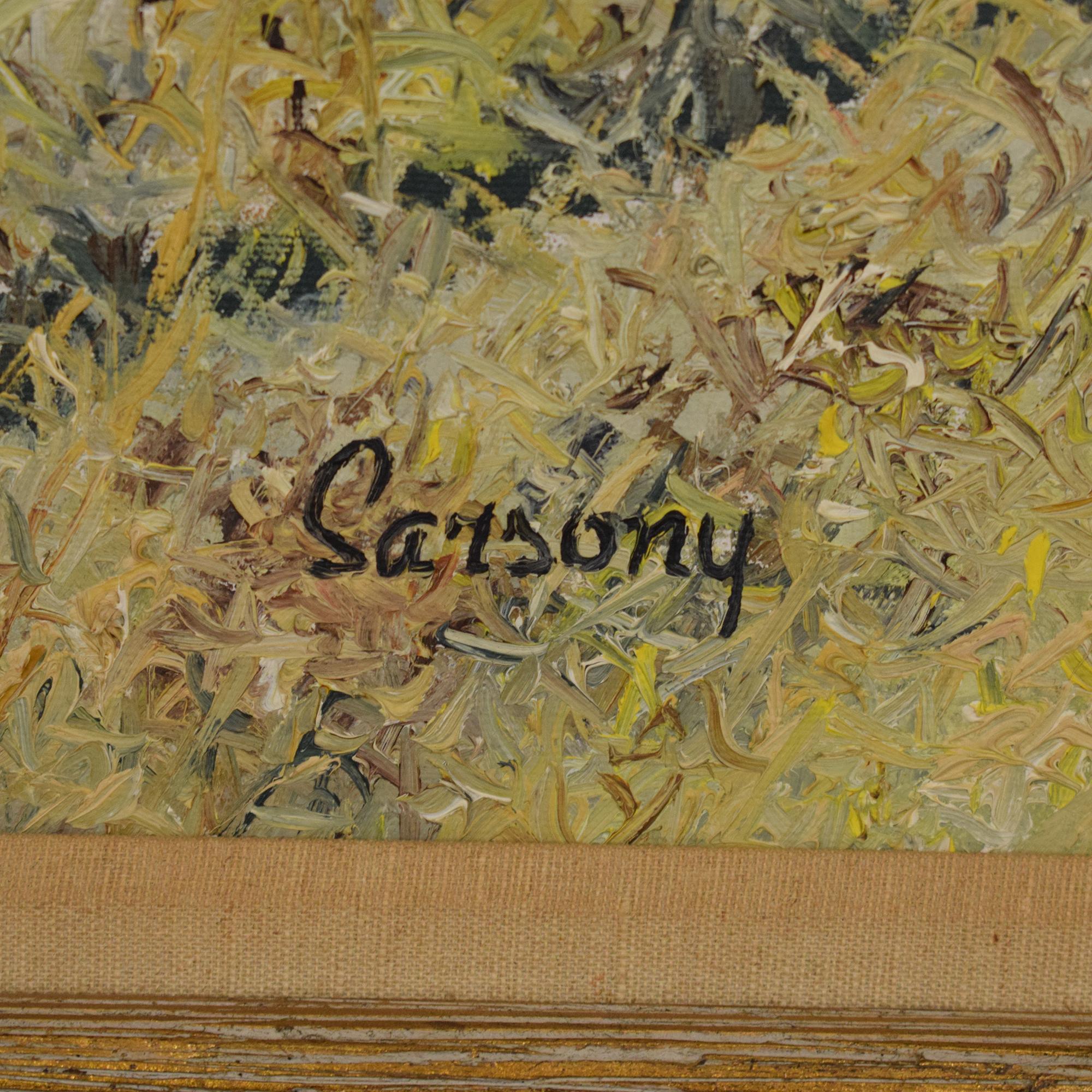 Robert Sarsony Wheel at the Barn Corner Framed Wall Art dimensions