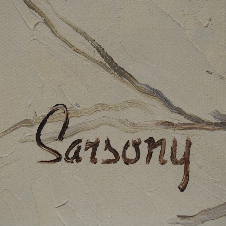 shop  Robert Sarsony Tree and Lantern Framed Art online