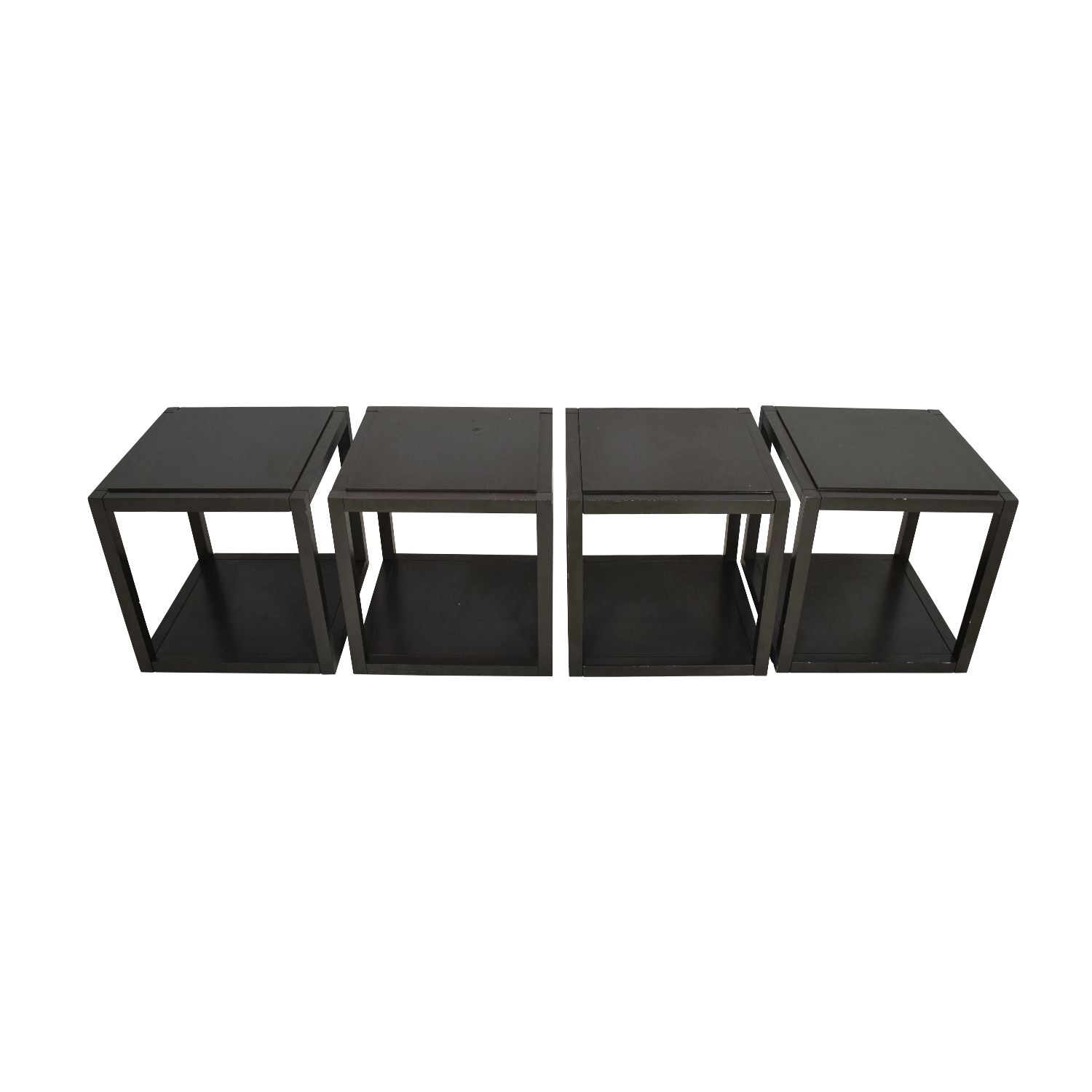 Crate and Barrel Crate and Barrel Multifunctional Cubes nyc