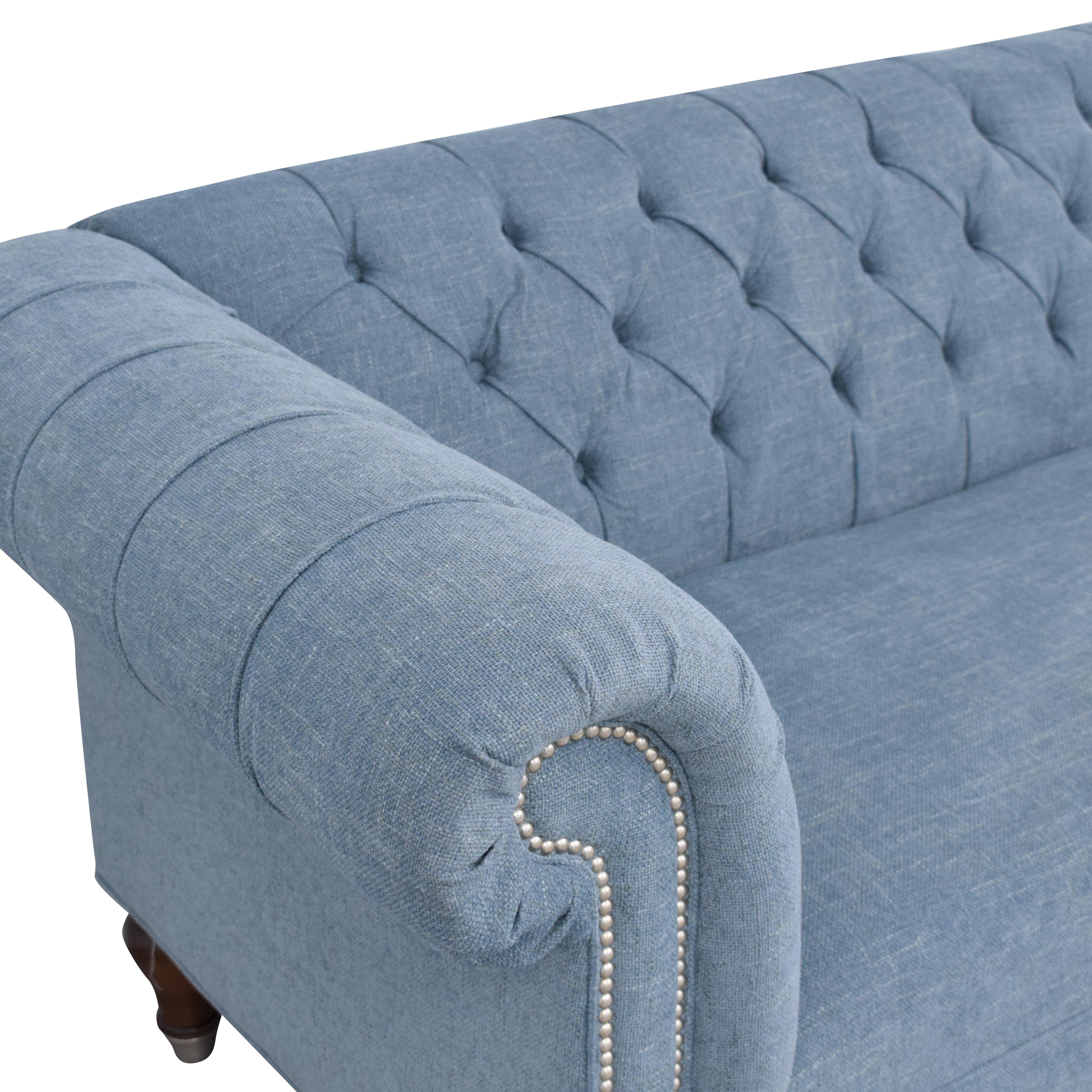 Bassett Furniture Bassett Furniture Chesterfield Sofa used