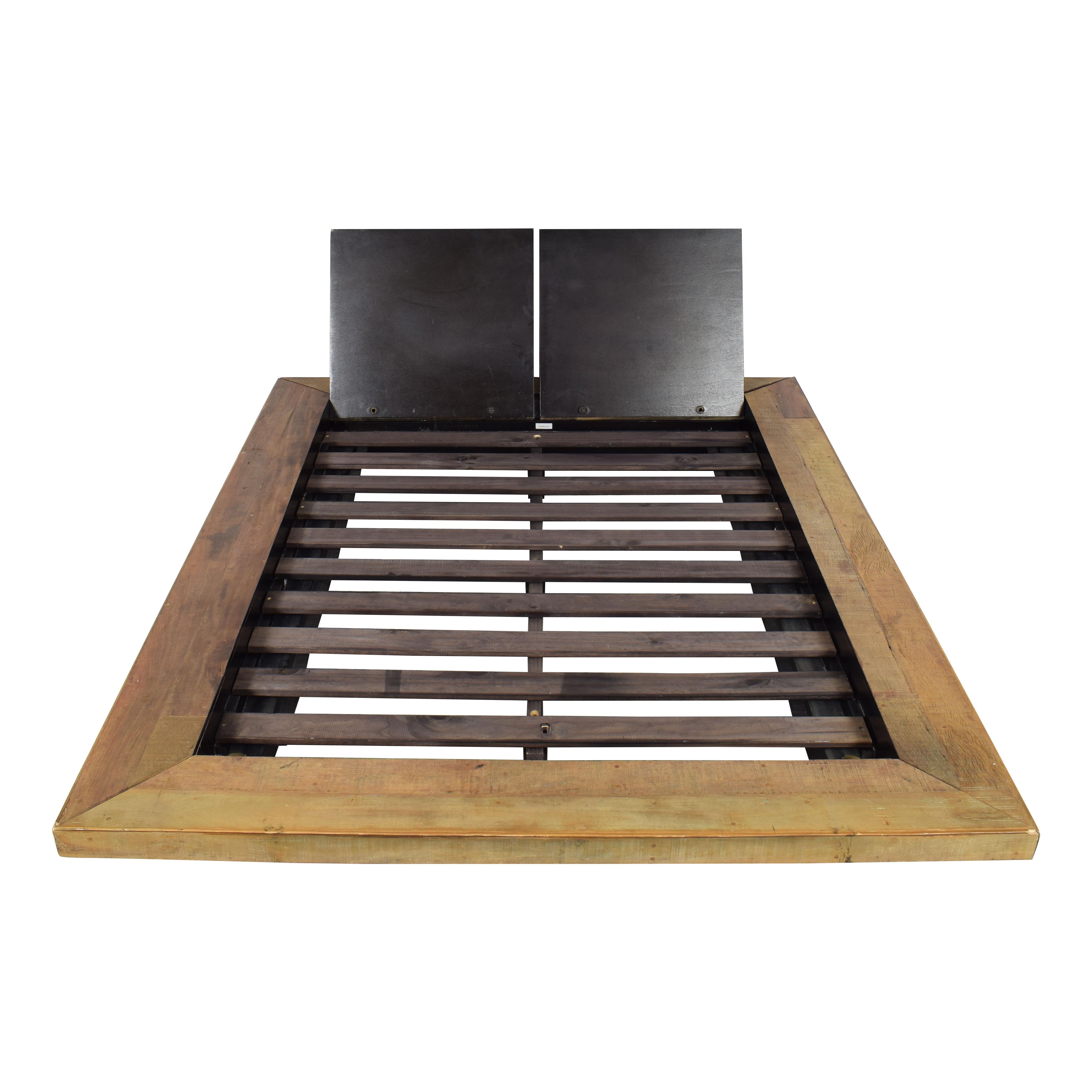 Environment Furniture Environment Furniture Santos Platform Queen Bed ma