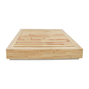 buy IKEA Birch Wood Queen Bed Frame with Storage online