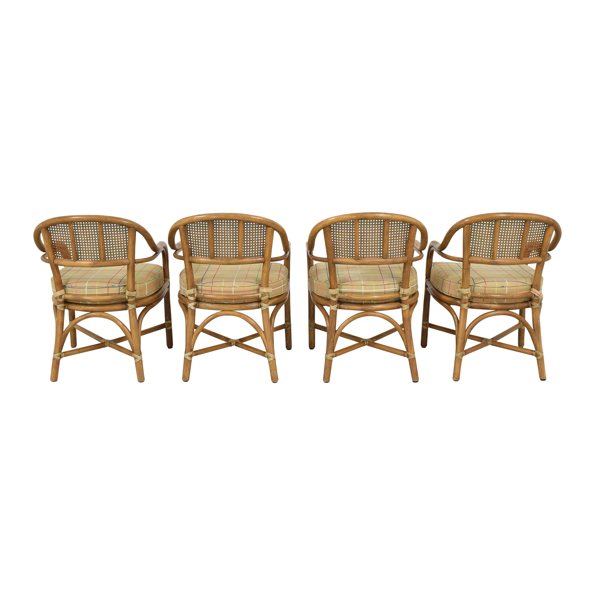 McGuire McGuire Wicker Dining Chairs coupon