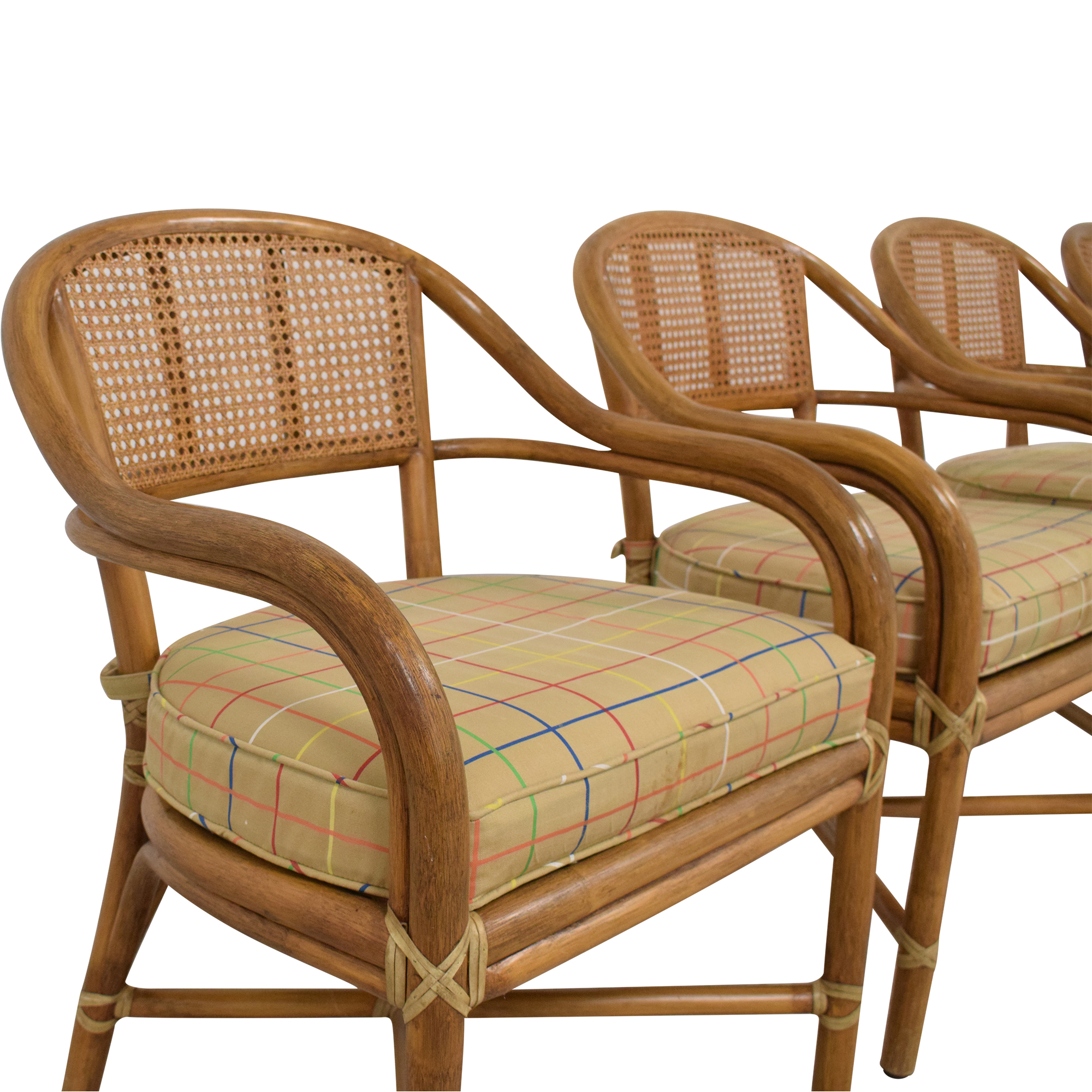 shop McGuire Wicker Dining Chairs McGuire