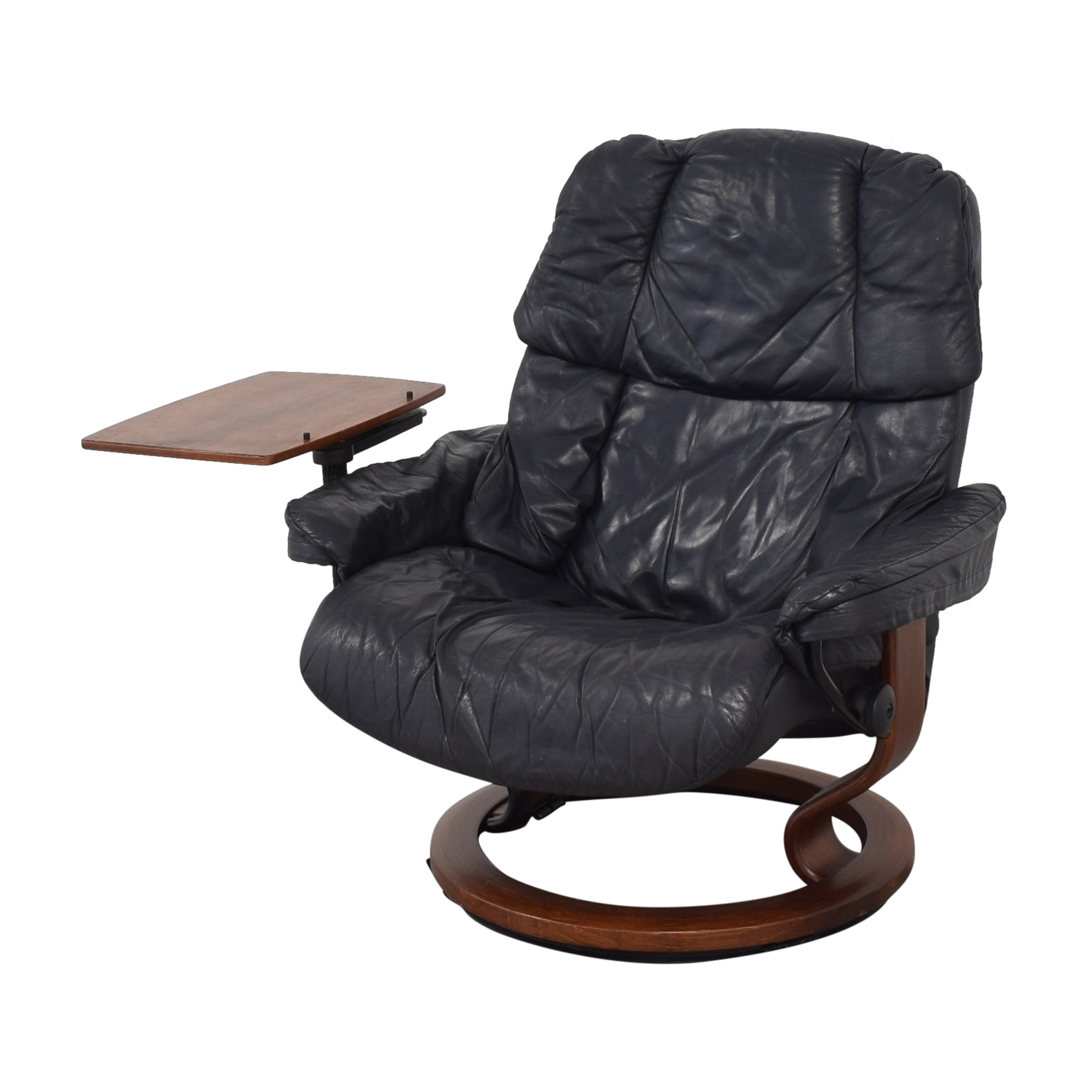 Ekornes Stressless Reno with Footstool and Personal Table sale