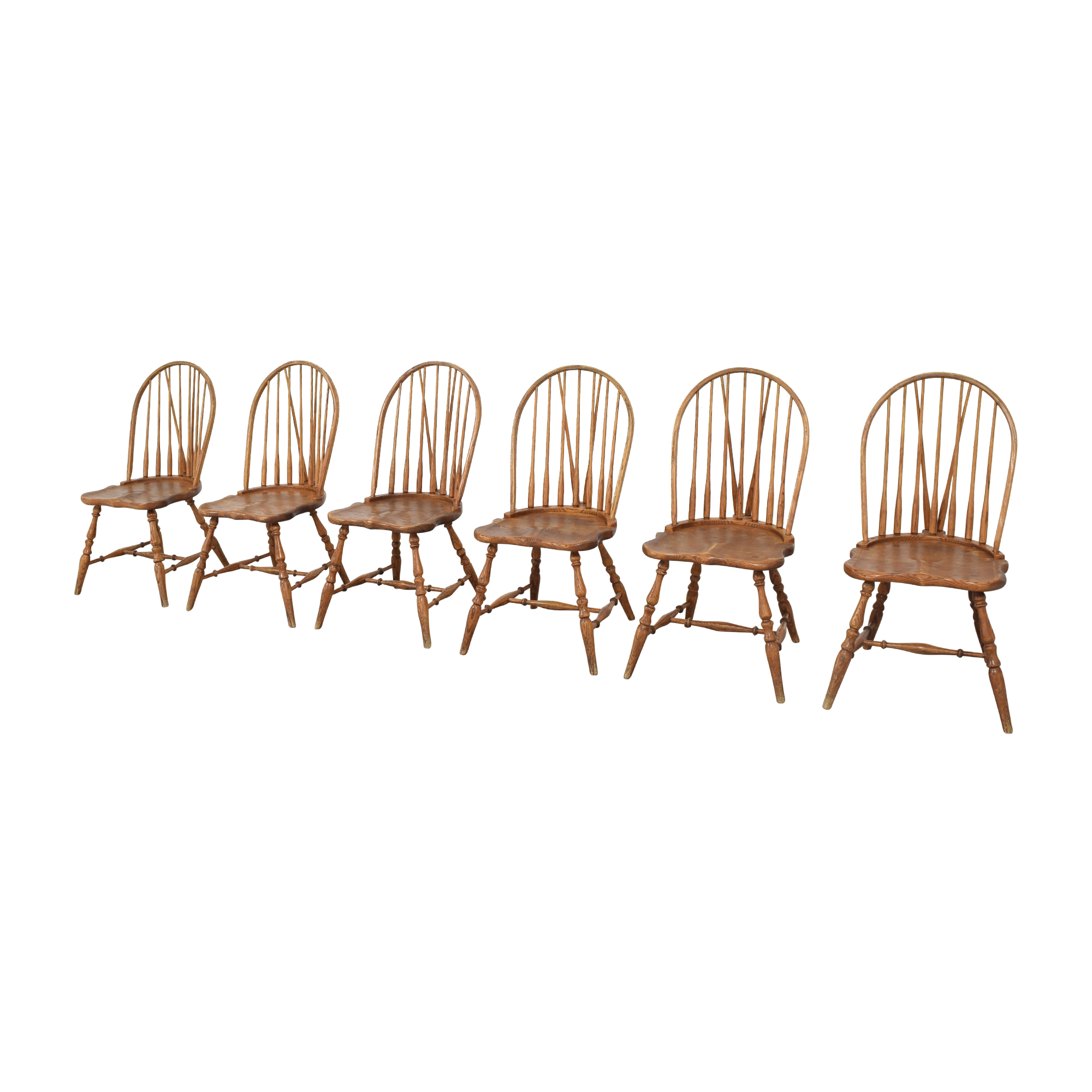 ABC Carpet & Home Windsor Style Dining Chairs ABC Carpet & Home