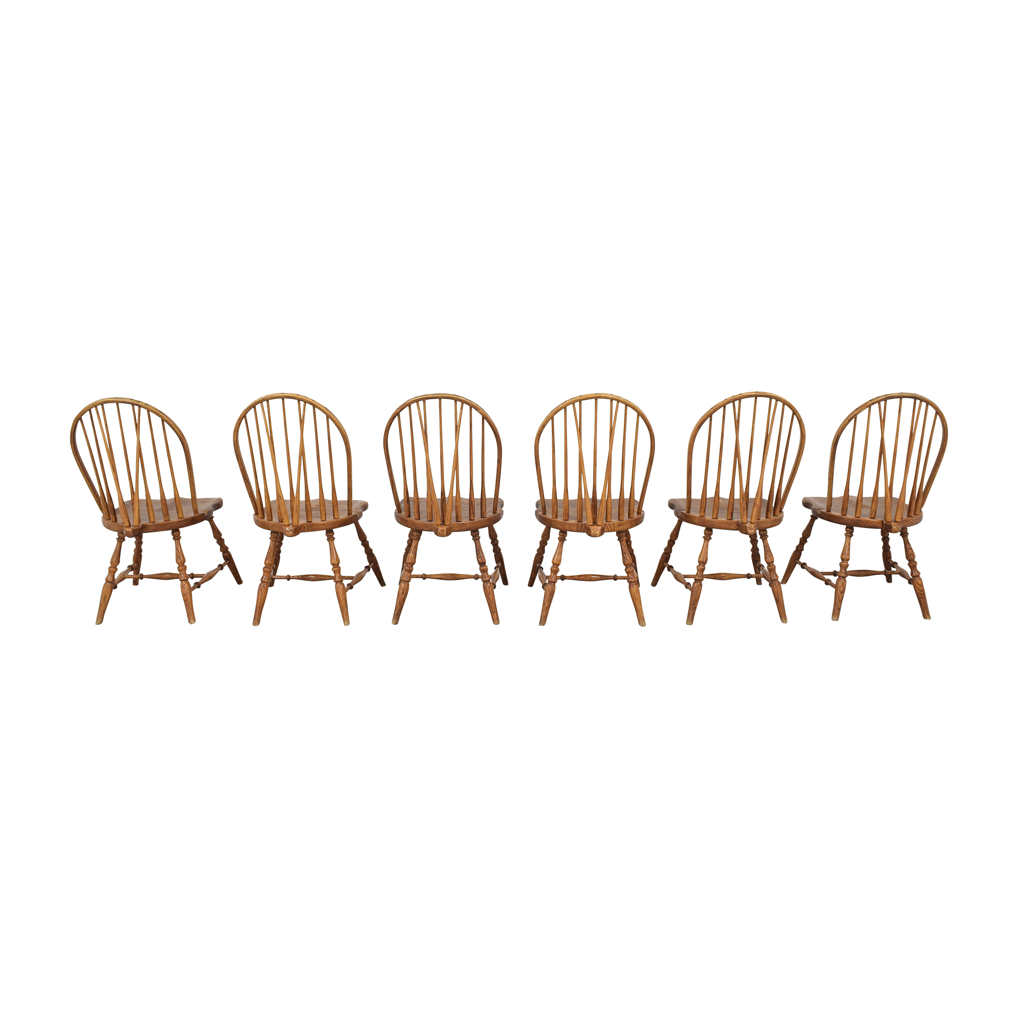 ABC Carpet & Home Windsor Style Dining Chairs sale