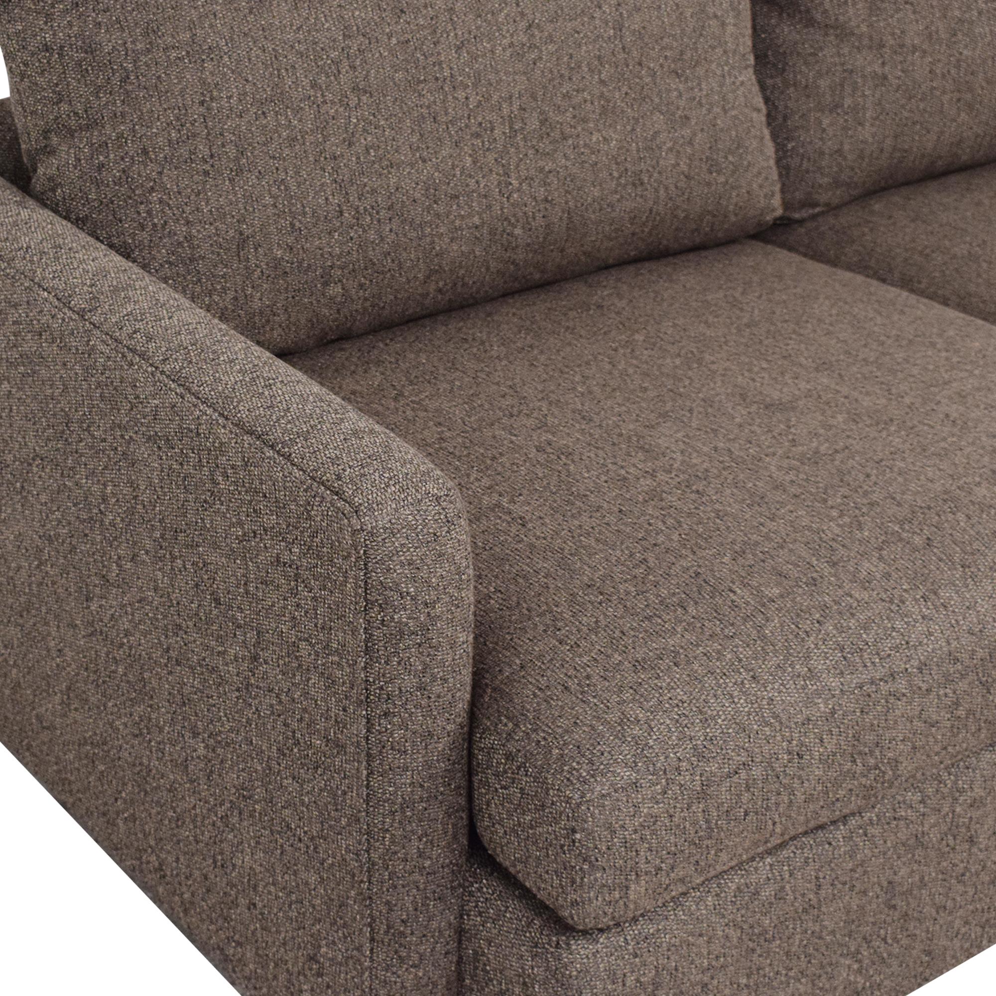 Crate & Barrel Crate & Barrel Lounge II 2-Piece Sectional Sofa discount