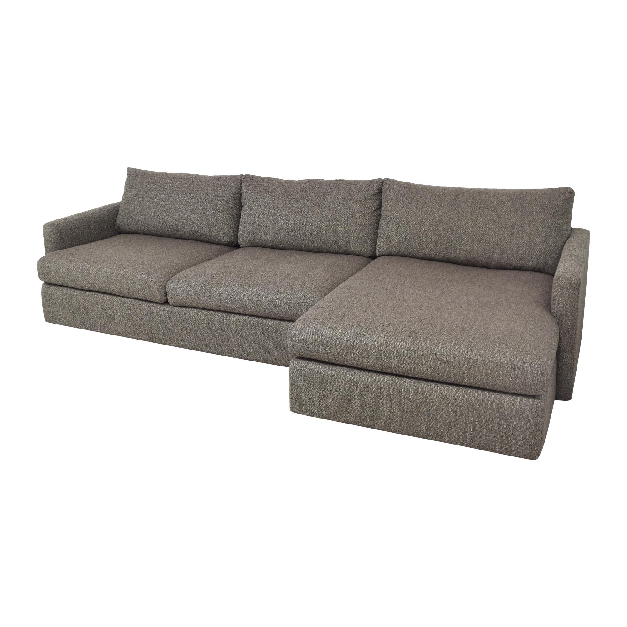 Crate & Barrel Crate & Barrel Lounge II 2-Piece Sectional Sofa