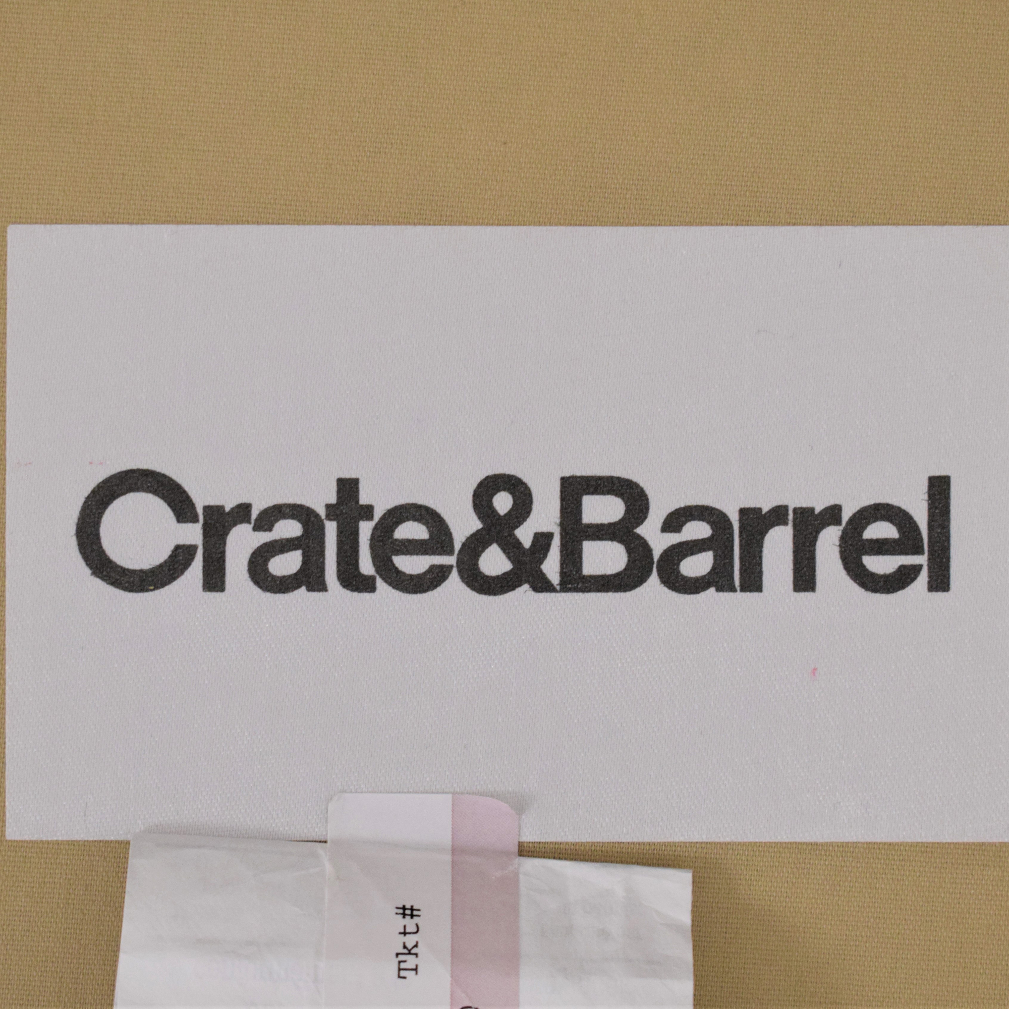 Crate & Barrel Crate & Barrel Lounge II 2-Piece Sectional Sofa second hand