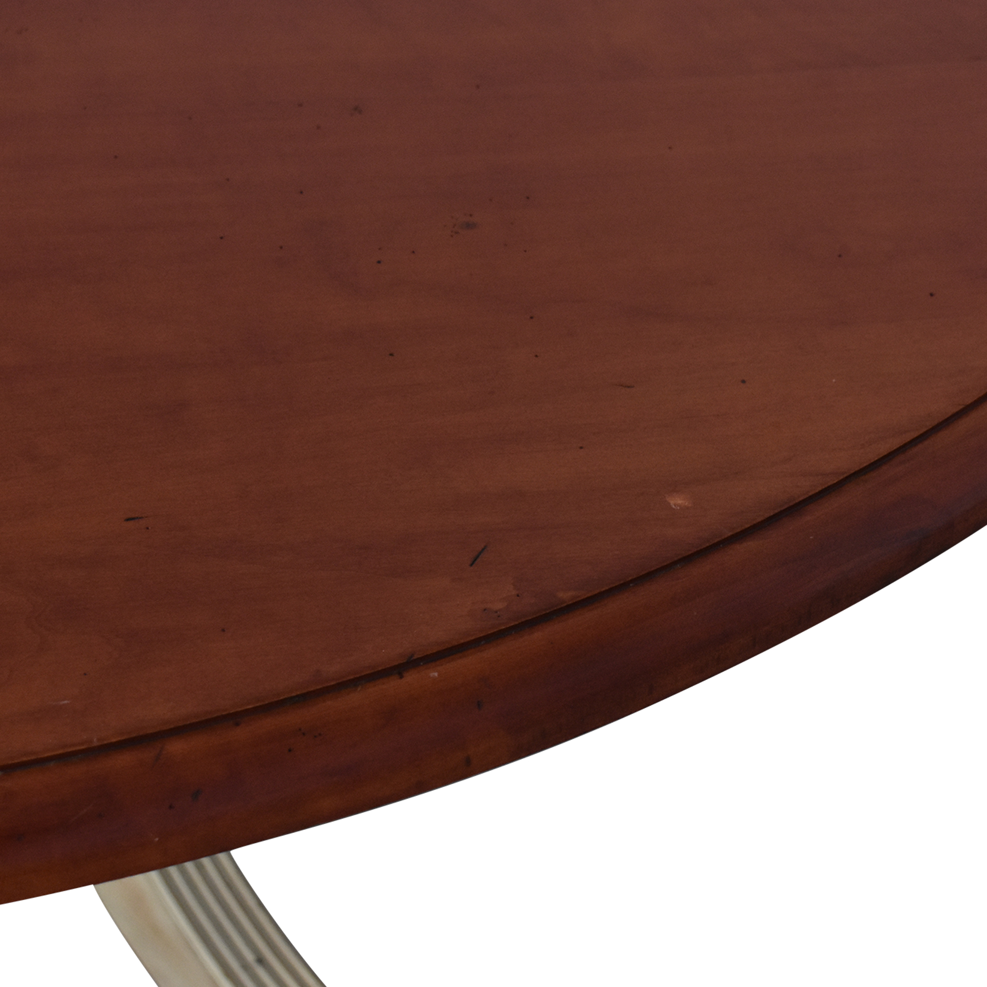 shop Four Foot Round Pedestal Dining Table