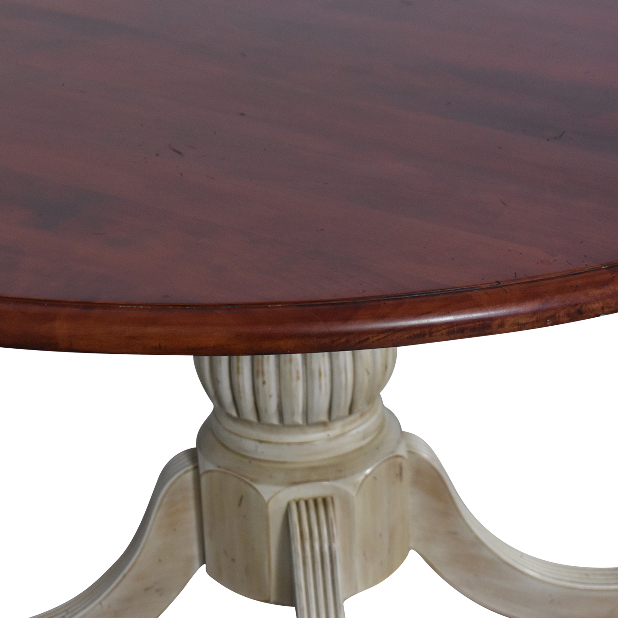 Four Foot Round Pedestal Dining Table nyc