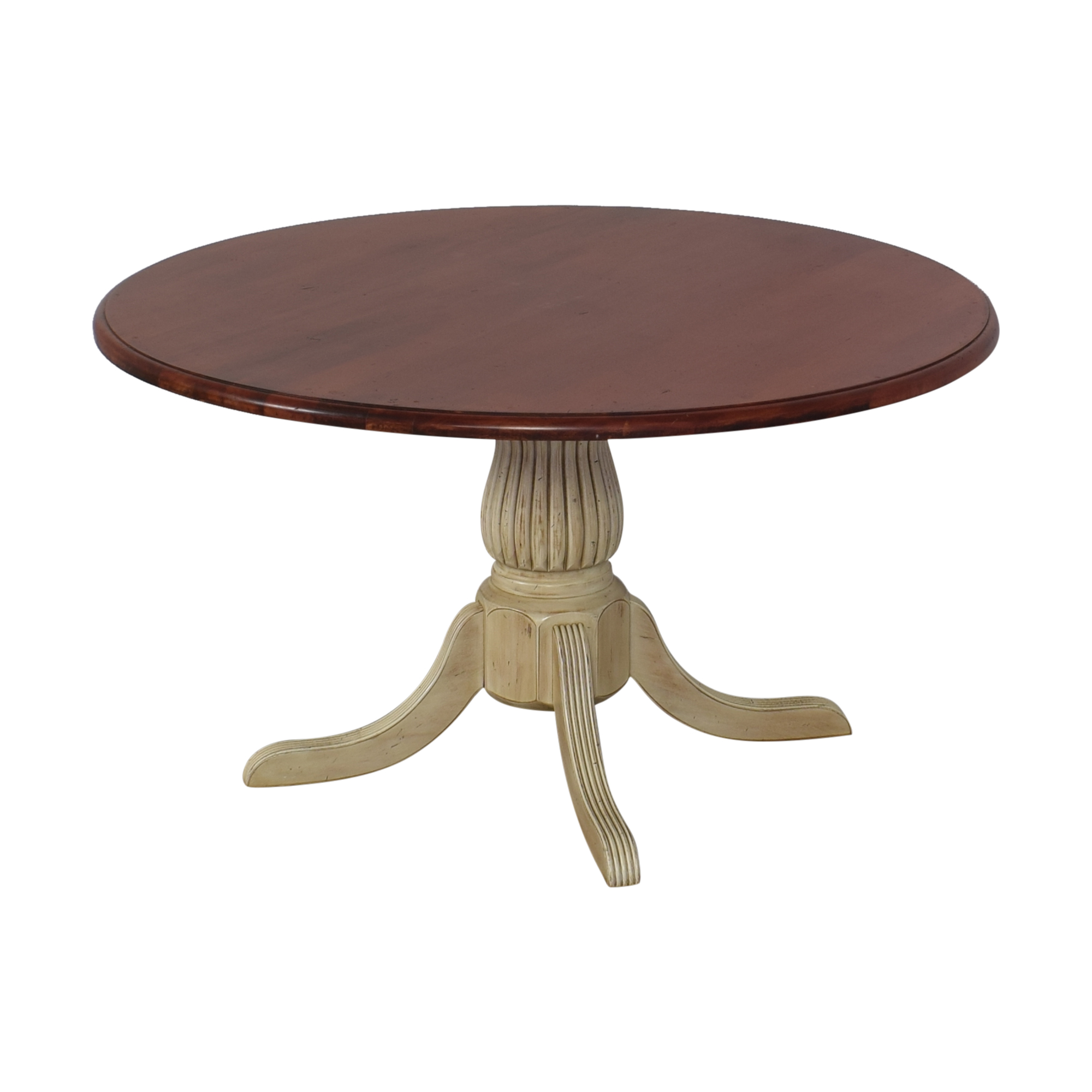 Four Foot Round Pedestal Dining Table / Tables