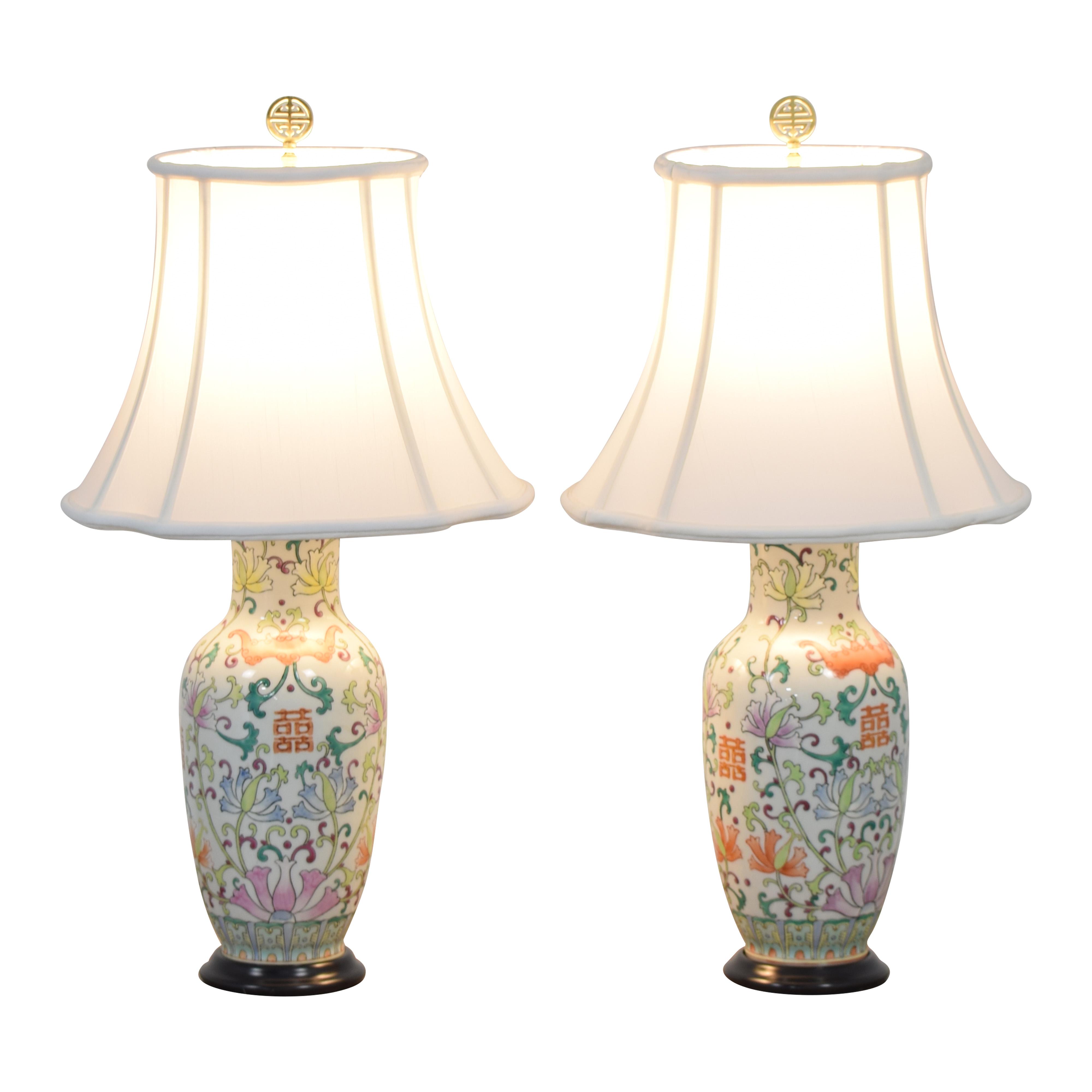 Bloomingdale's Bloomingdale's Floral Table Lamps dimensions
