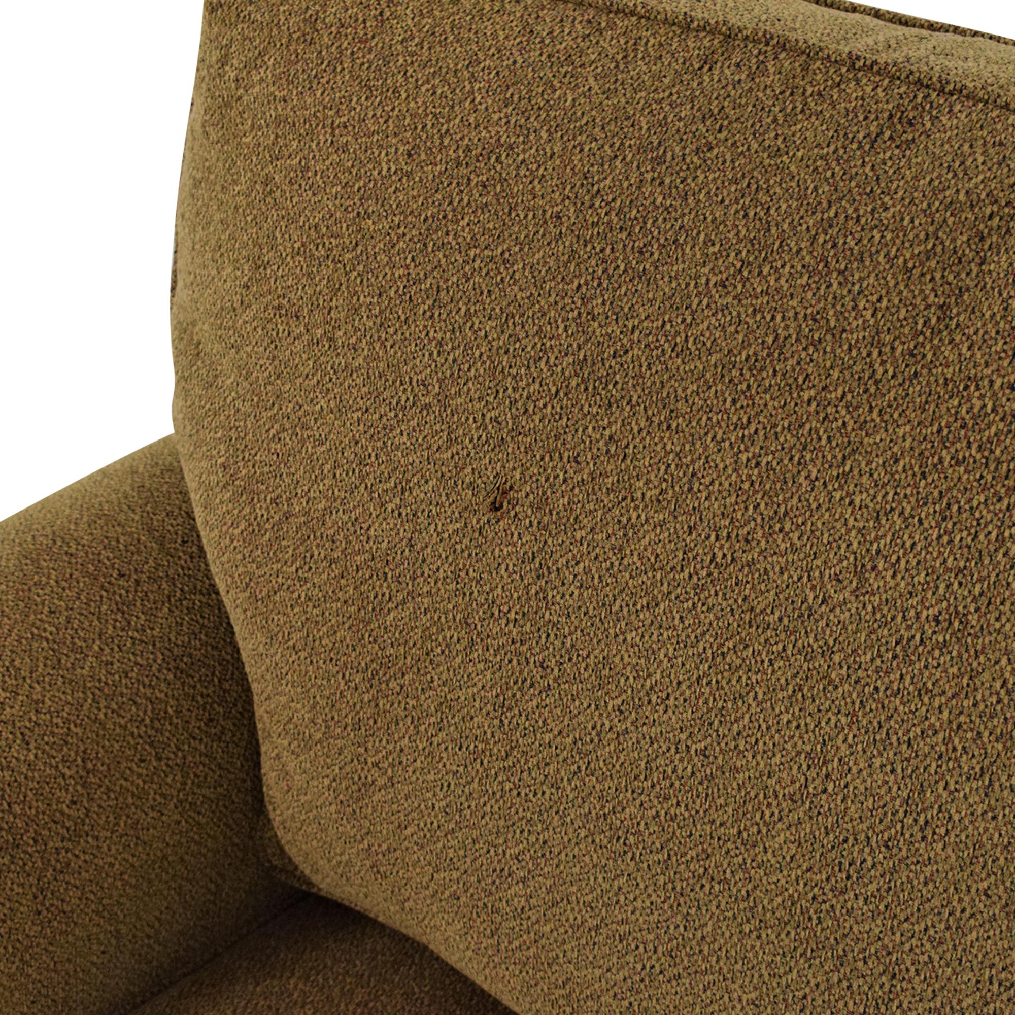 Custom Two Cushion Roll Arm Sofa / Sofas