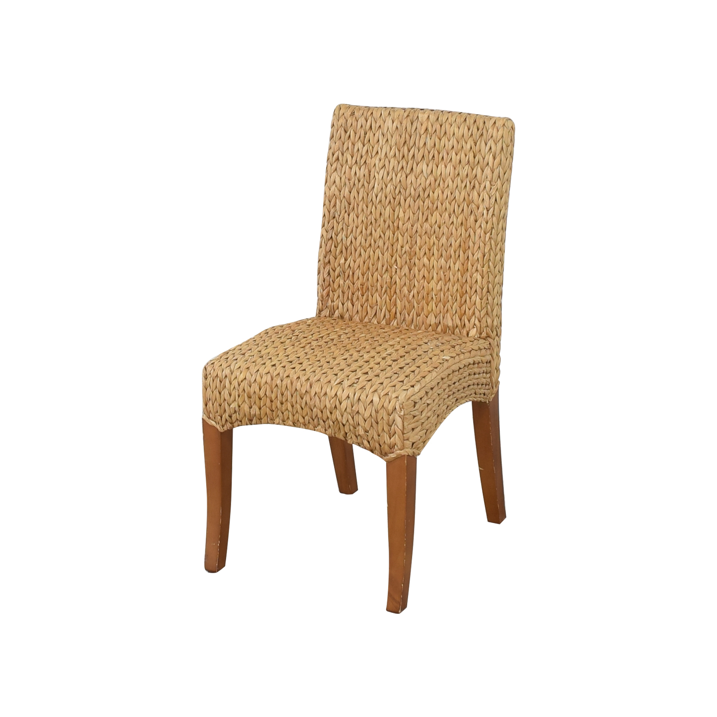 Pottery Barn Pottery Barn Seagrass Dining Side Chairs for sale