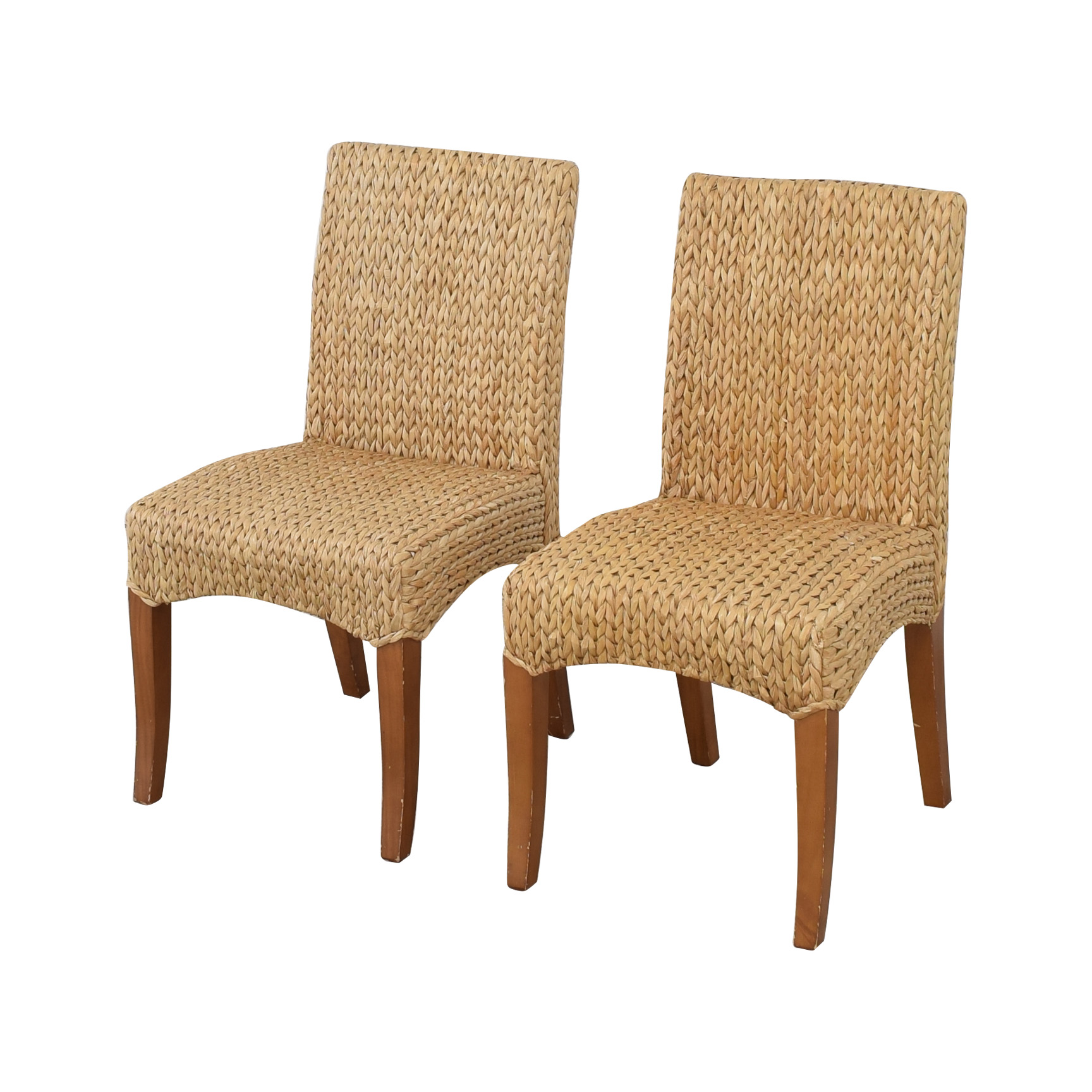 Pottery Barn Pottery Barn Seagrass Dining Side Chairs price