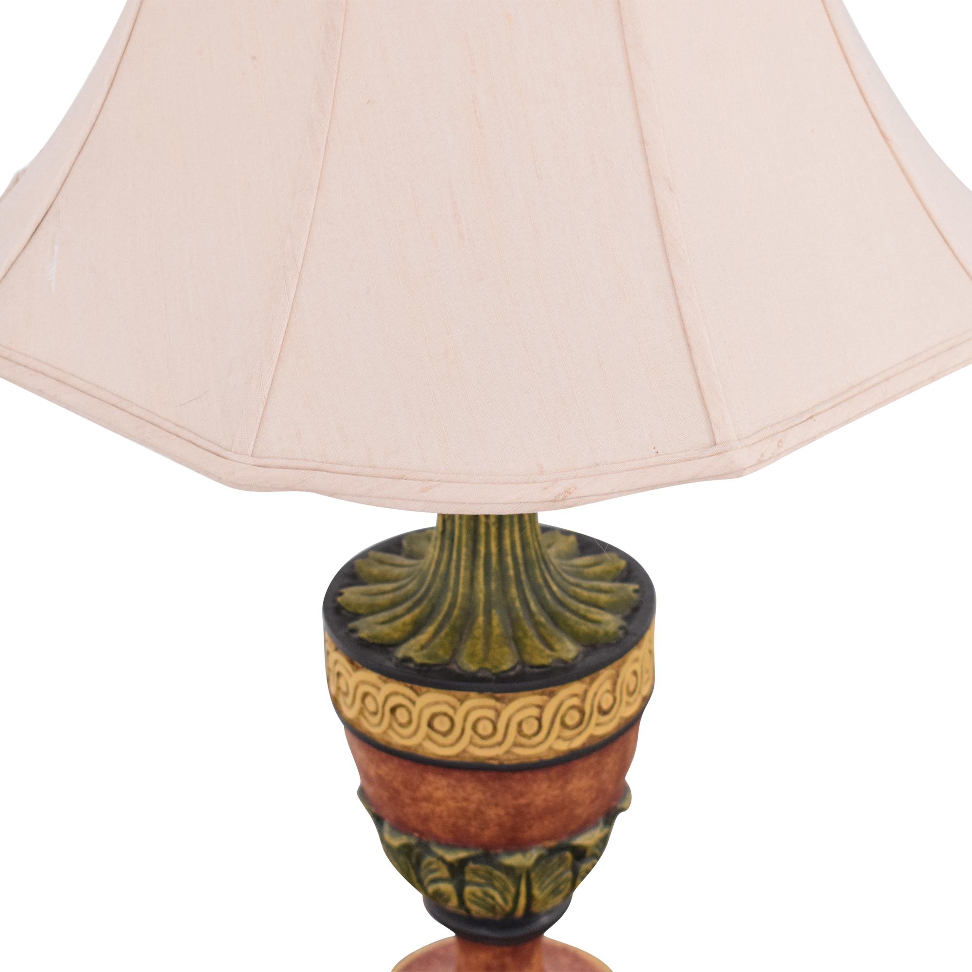 Wood Base Lamp ct