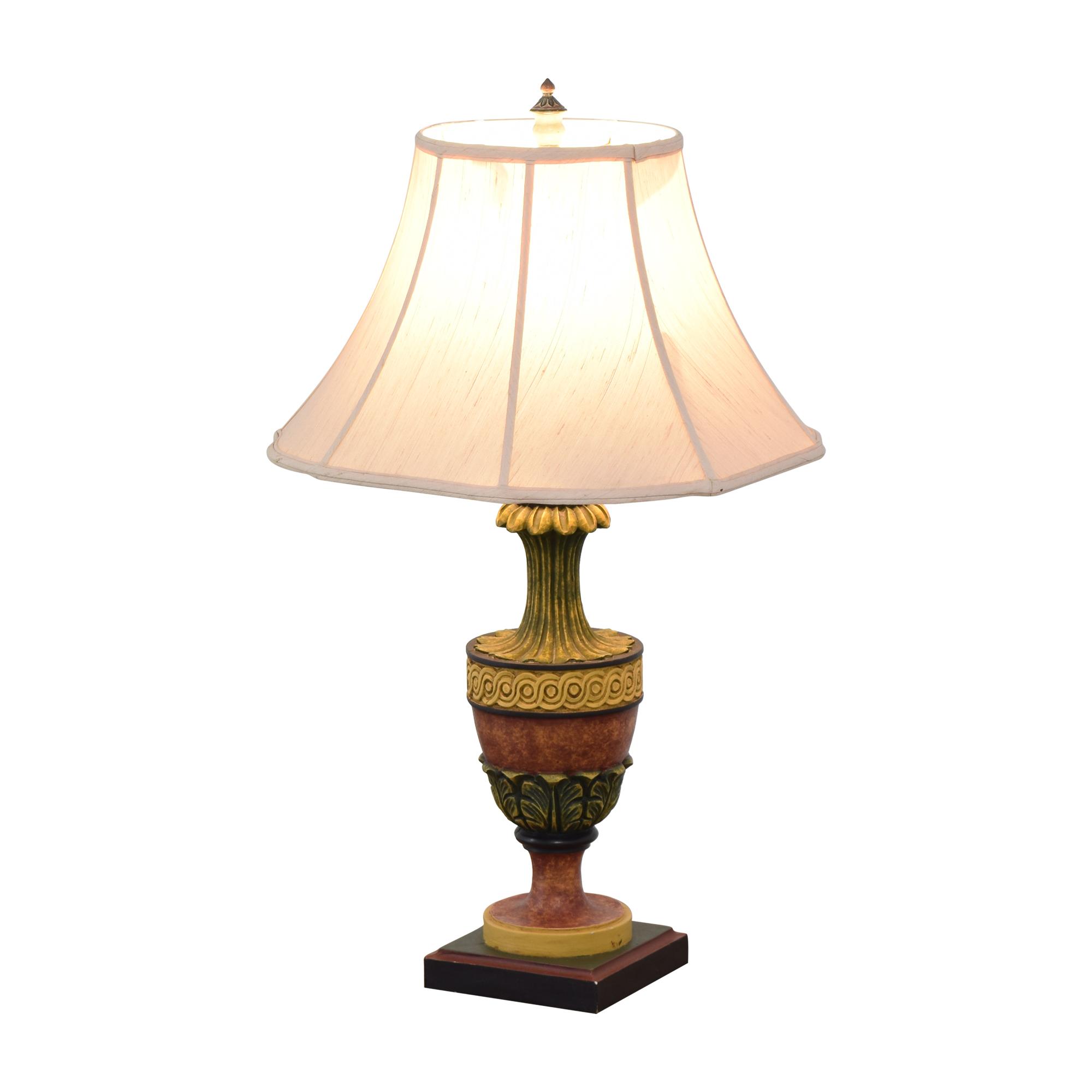 Wood Base Lamp discount
