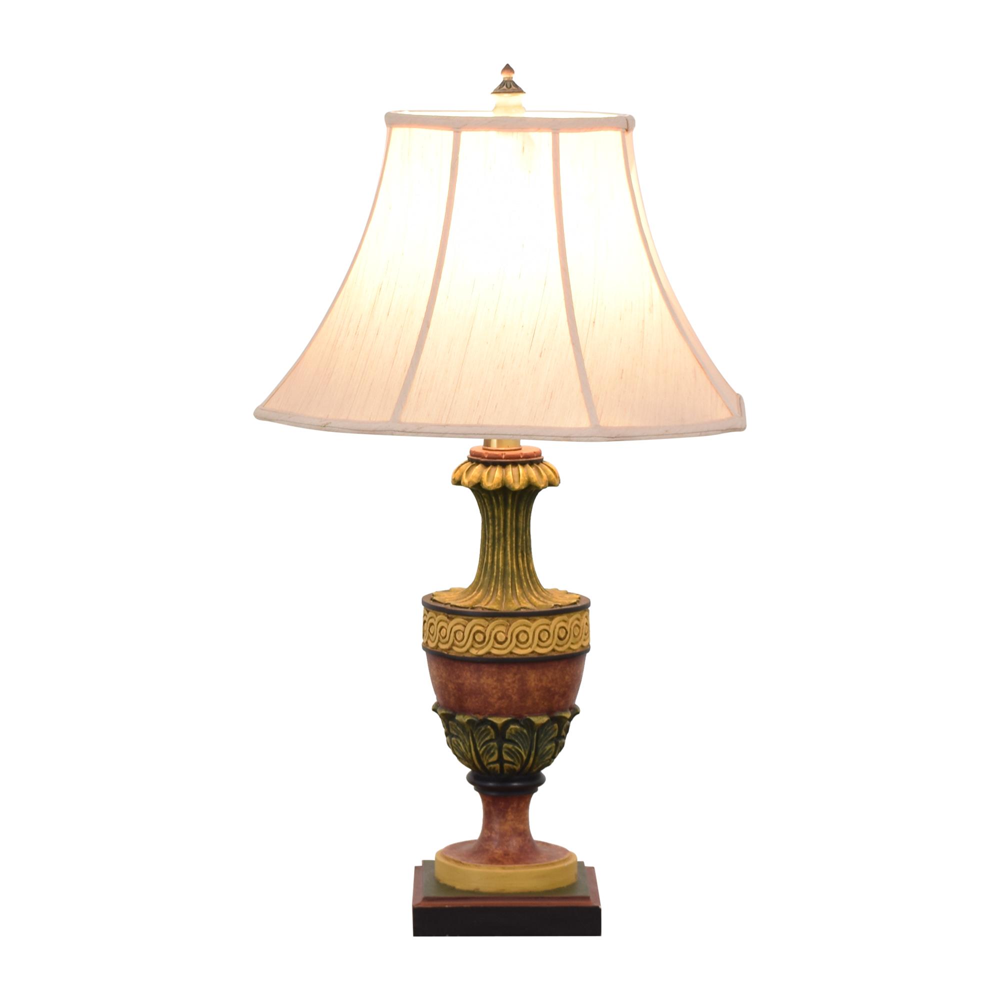 shop Wood Base Lamp