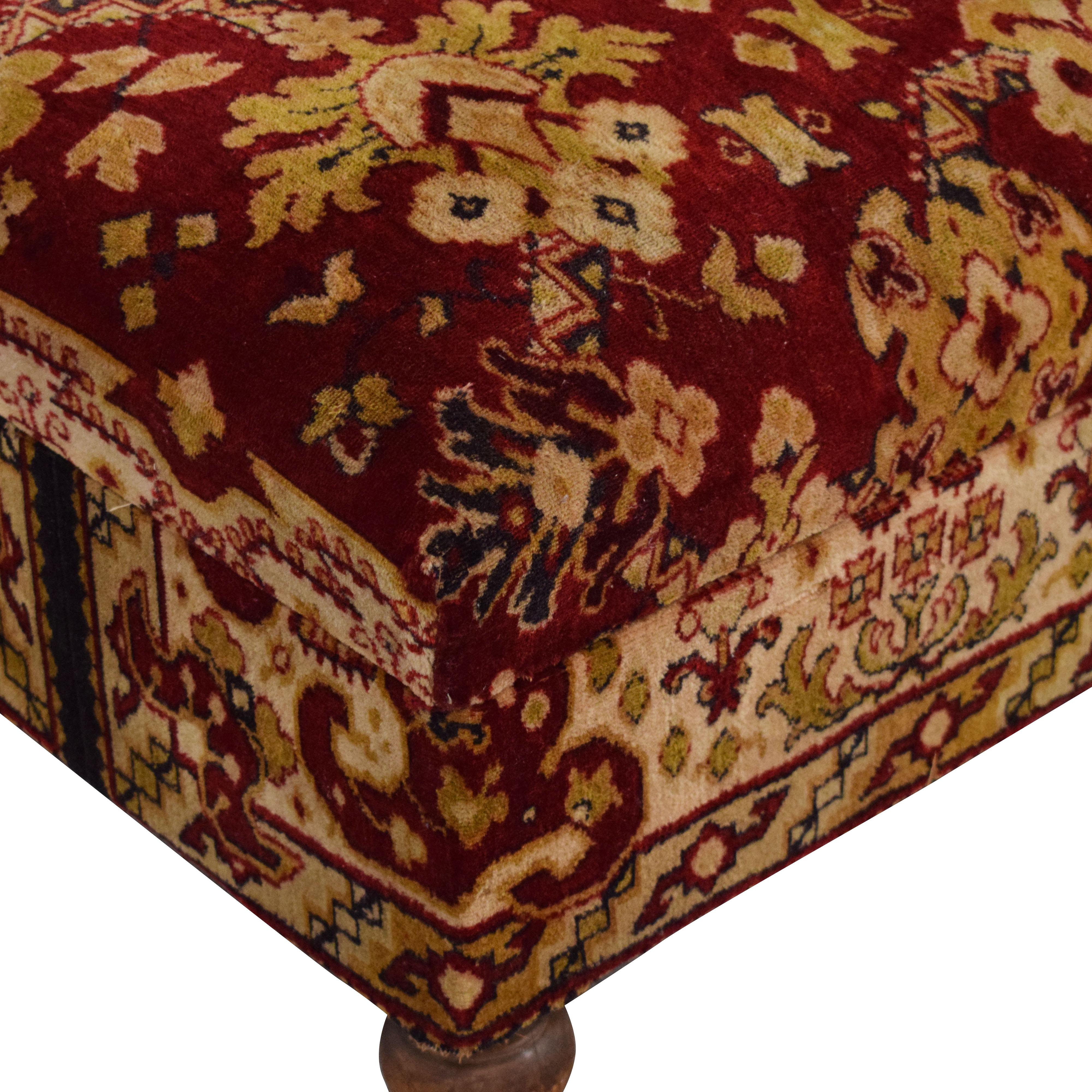 shop Custom Ottoman with Storage