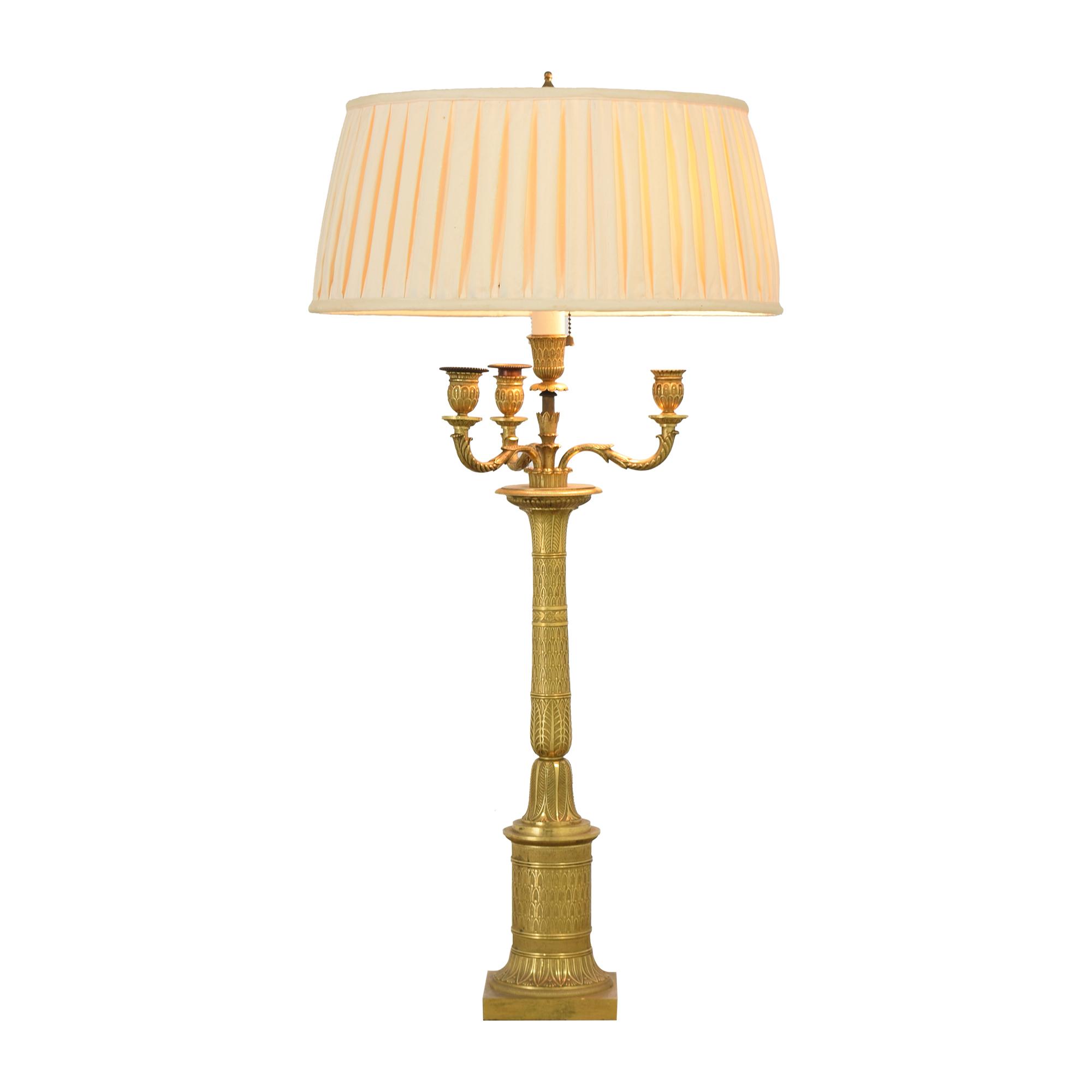 shop  Bronze Candelabra Lamp online