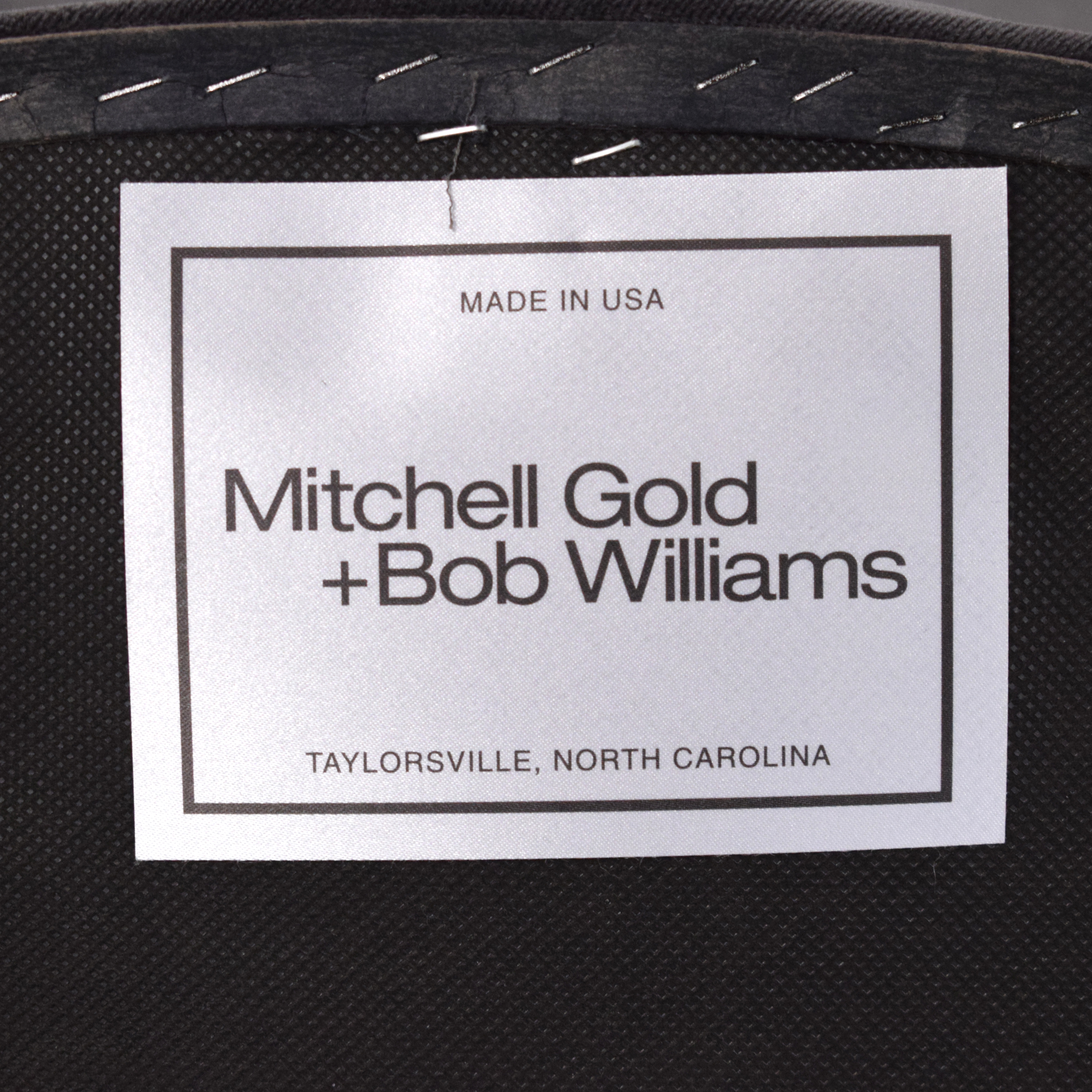 Mitchell Gold + Bob Williams Mitchell Gold + Bob Williams Oval Back Side Chair with Bird Print for sale