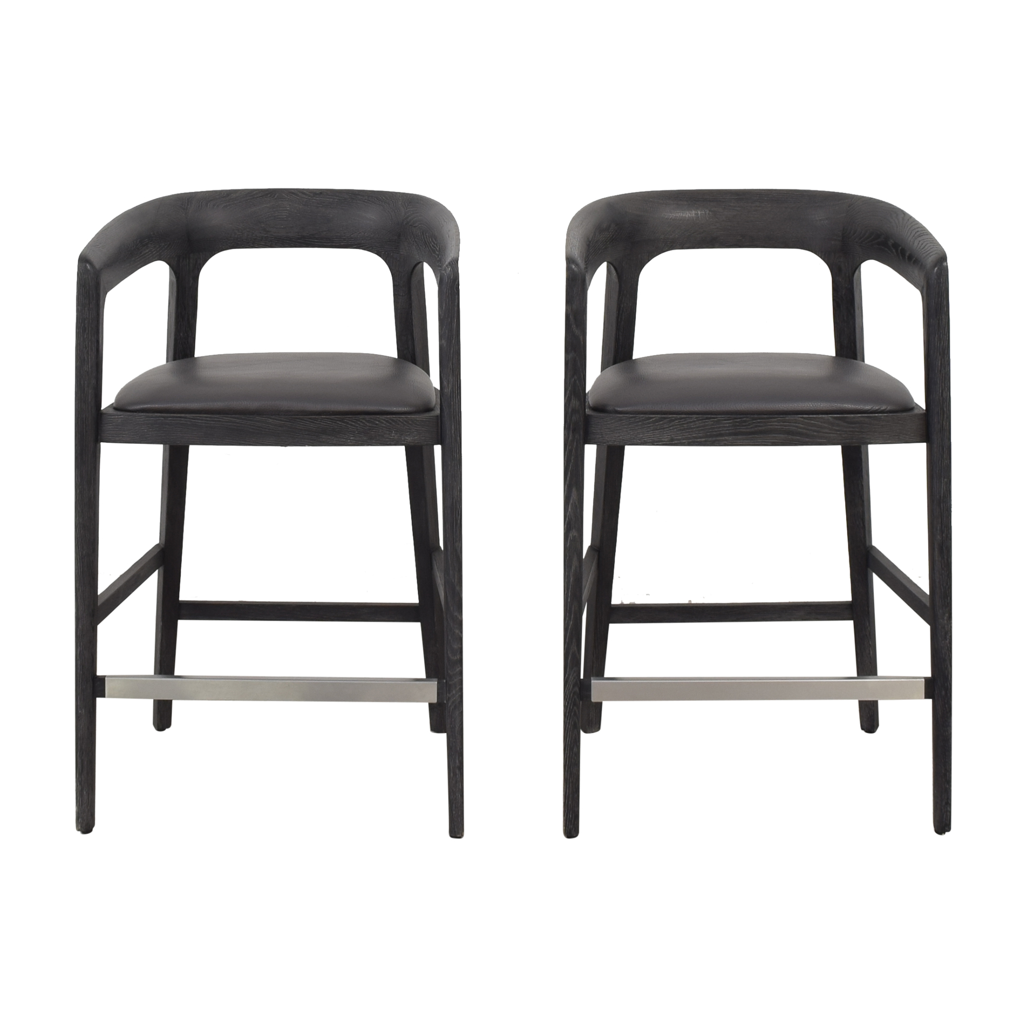 Interlude Home Interlude Home Kendra Counter Stools dark grey